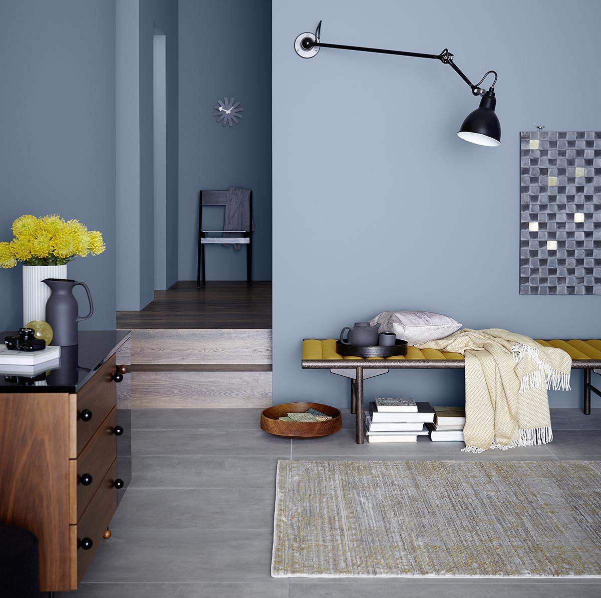Wandfarbe In Blau • Bilder & Ideen • COUCH