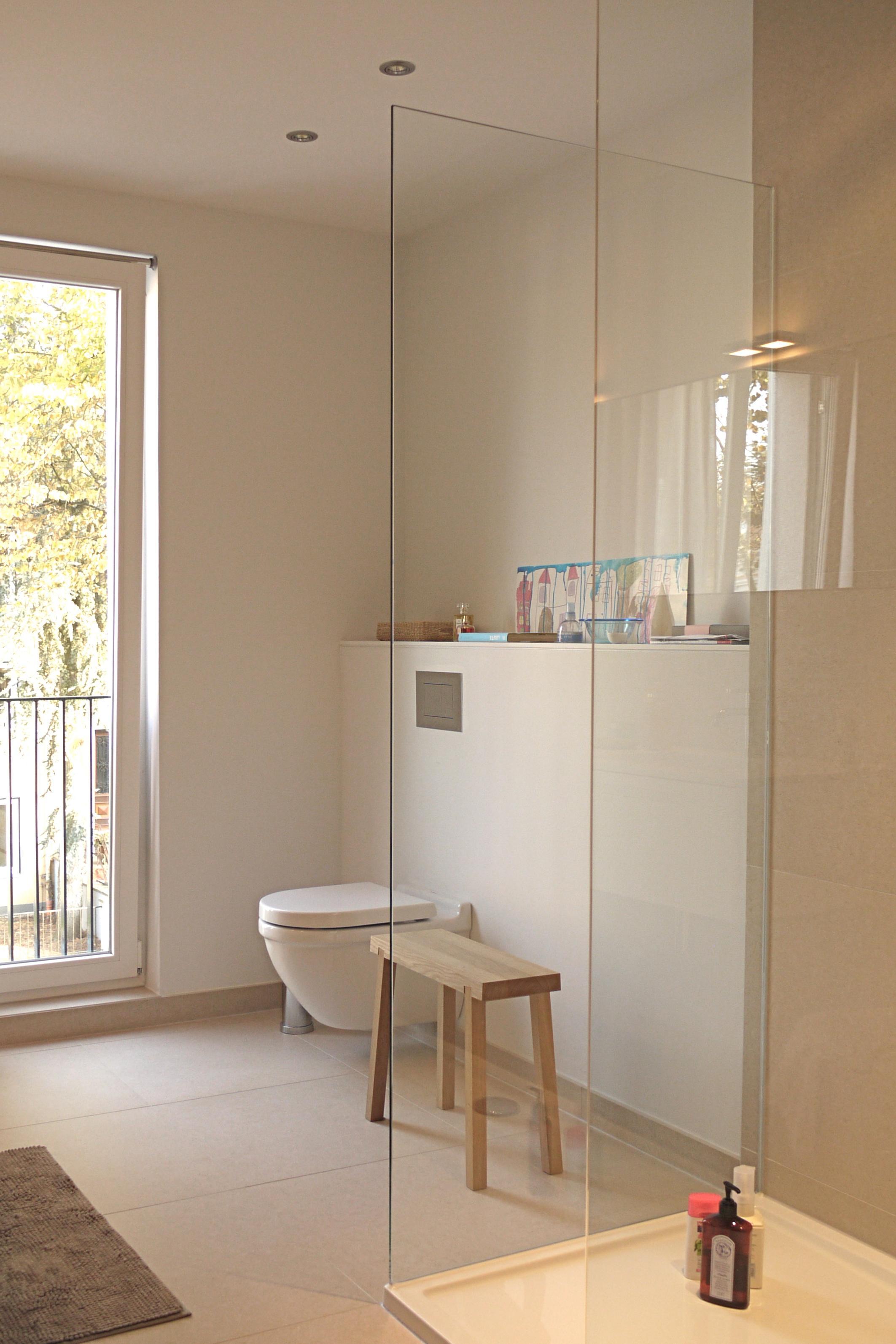 Wc Bereich Hocker Bad Dusche Holzhocker Minimal