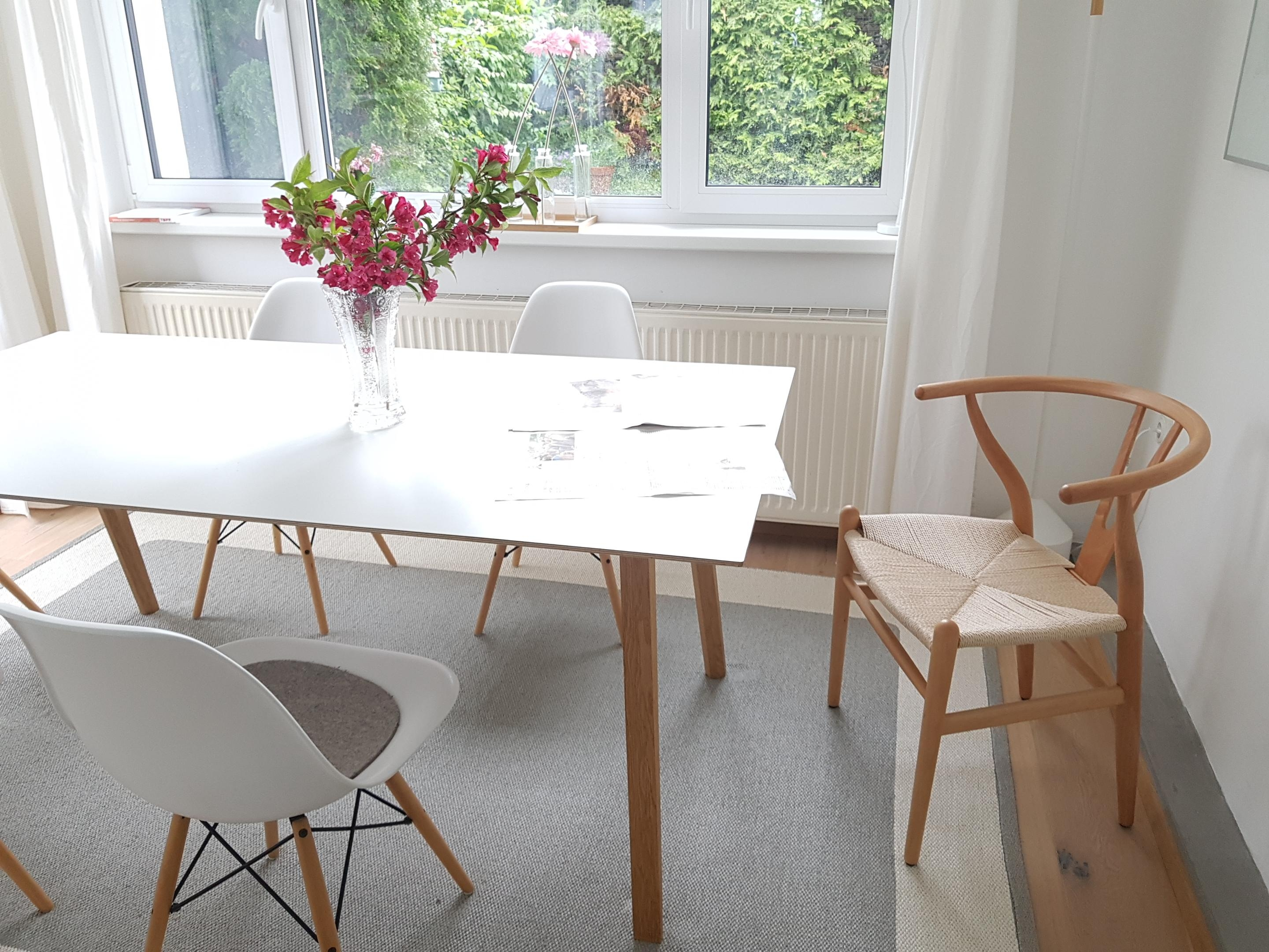 Wegner CH24 Wishbone Chair - ein Designklassiker. #wishbonechair #danishdesign