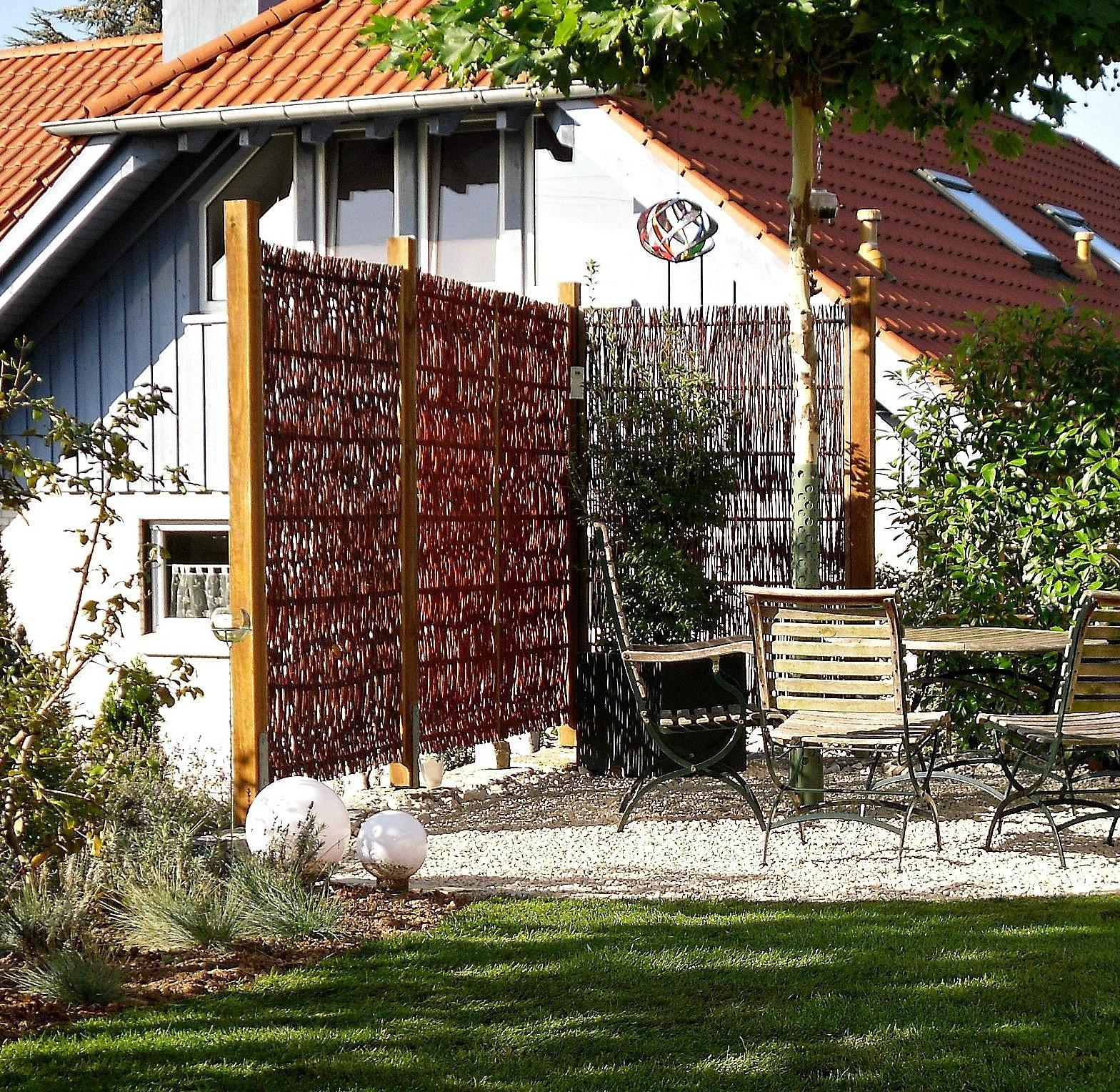 Weide Basic Terrasse Sichtschutz C Lieferant Couch