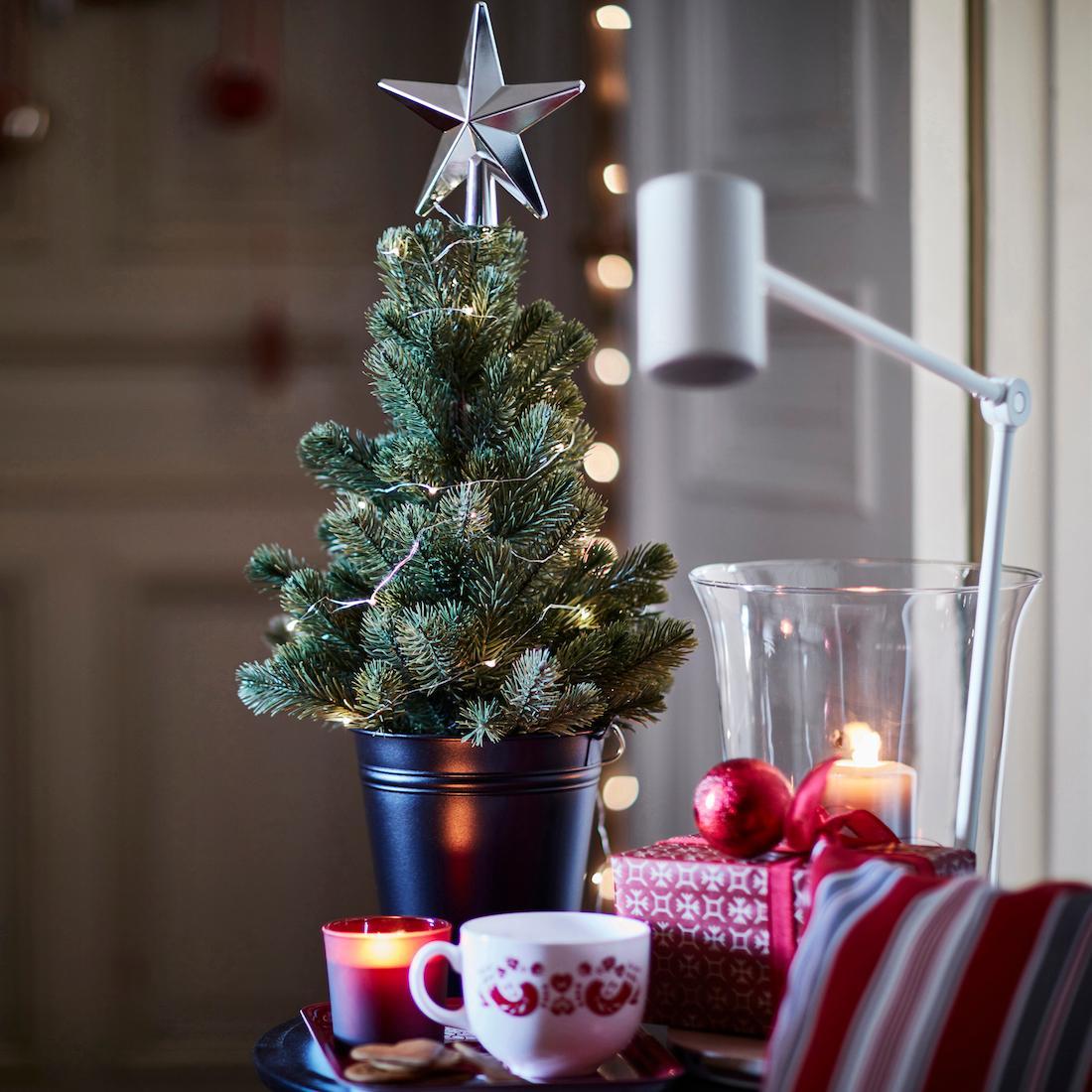 Weihnachtsdeko Ikea weihnachtskugeln bilder ideen couchstyle