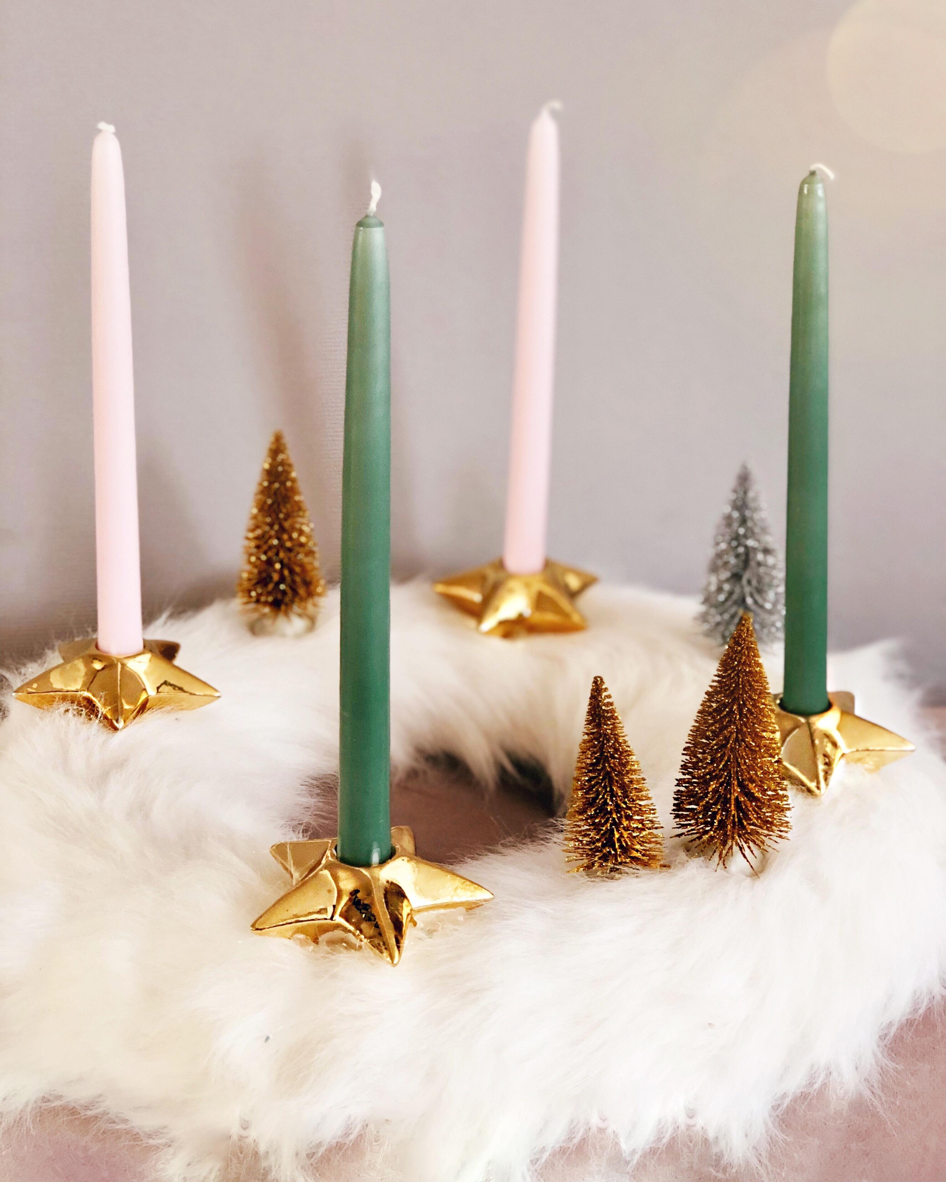 Weihnachtsdeko Für Adventskranz.Weihnachtsdeko Weihnachten Adventskranz Basteln