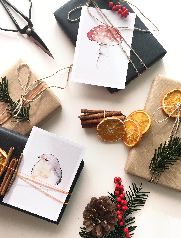 weihnachtskarten selbstgemacht aus meinem dawanda. Black Bedroom Furniture Sets. Home Design Ideas