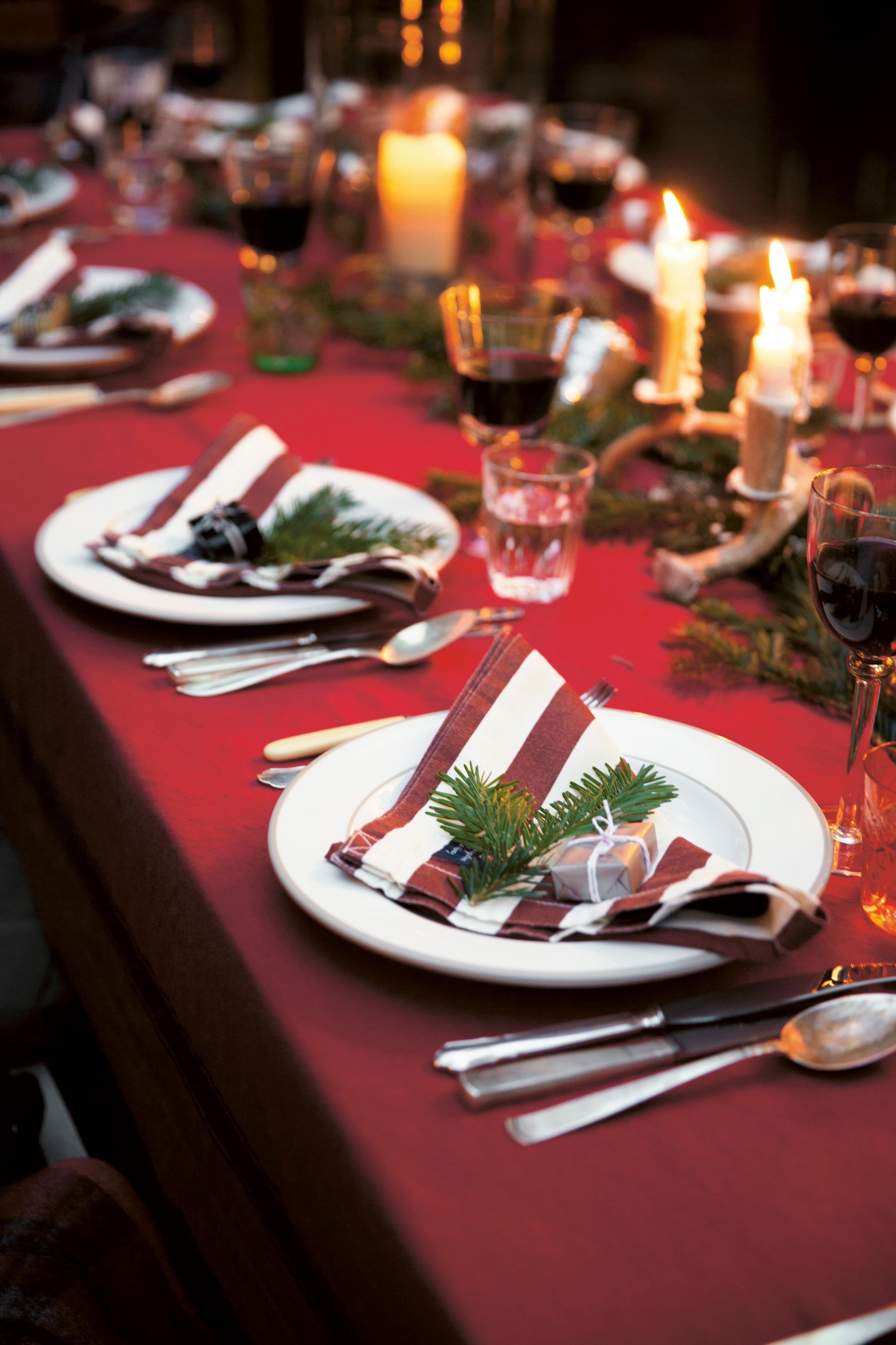 weihnachtstafel tischdeko weihnachtsdeko tischdek. Black Bedroom Furniture Sets. Home Design Ideas