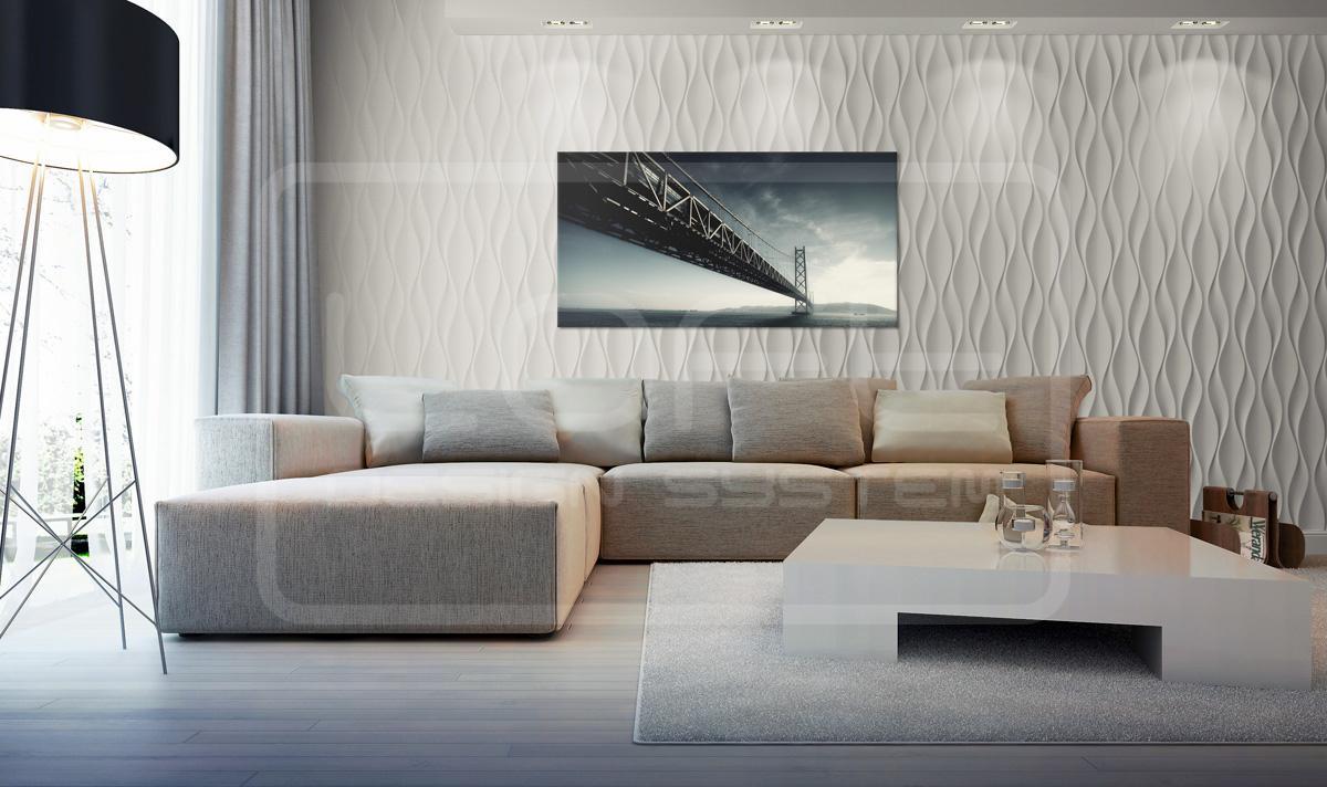 Moderne Wandgestaltung • Bilder & Ideen • Couchstyle