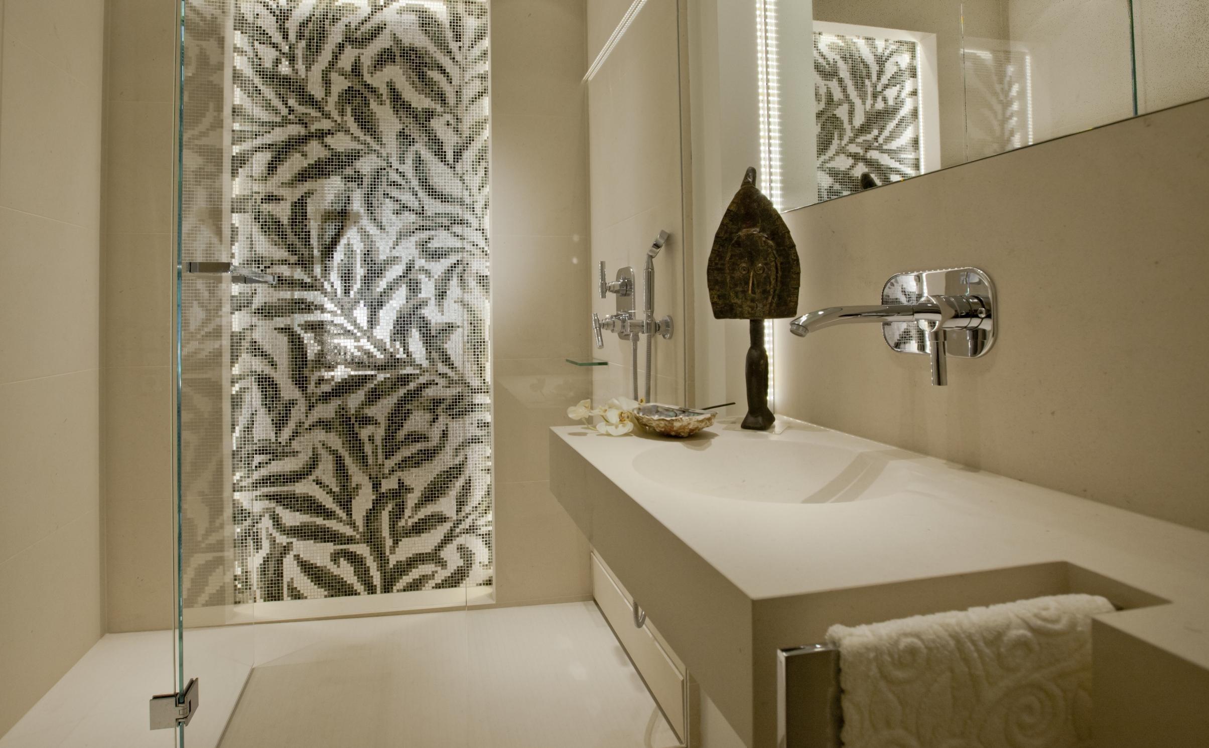 dusche ohne fliesen • bilder & ideen • couchstyle, Wohnzimmer dekoo