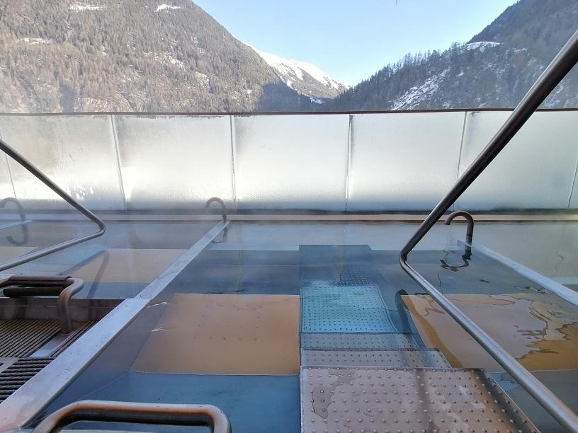 #wellness #travelchallenge Wellness in den Bergen im Aqua Dome in Tirol