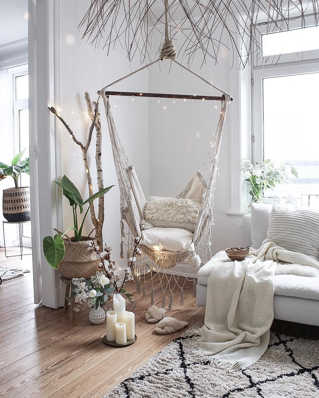 Wer schaukelt mit mir hangingchair h ngesessel - Cosy home deko ...
