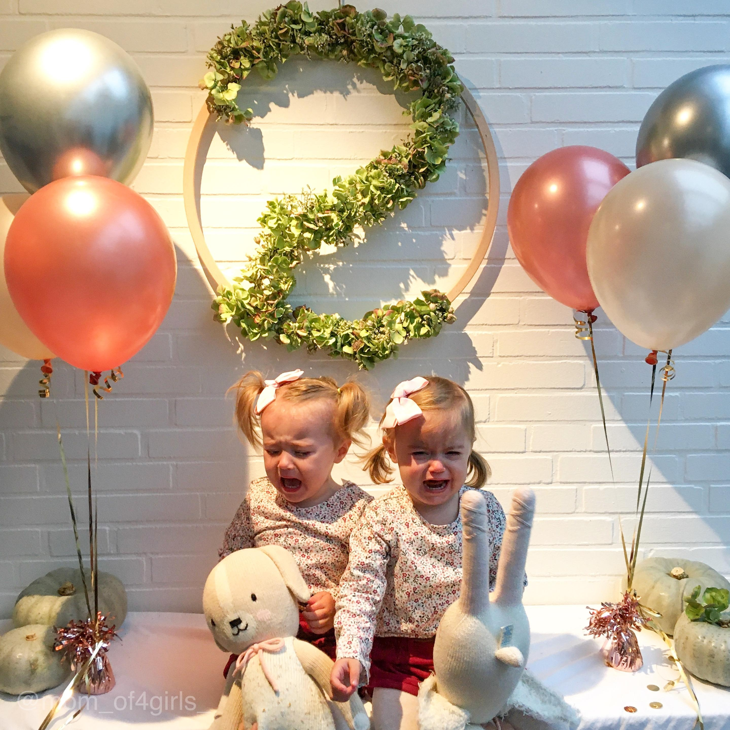 What do the twins think? #zwillinge #twinsbirthday #birthday #twins #geburtstag #geburtstagsfeier #geburtstagskind