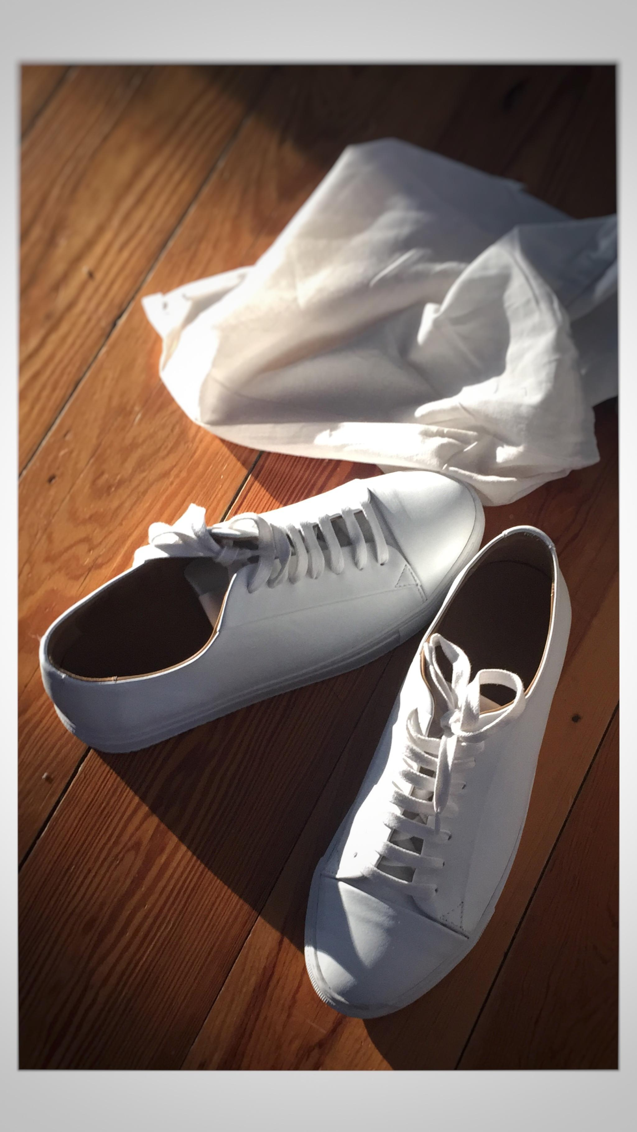 Whitest shoes alive.