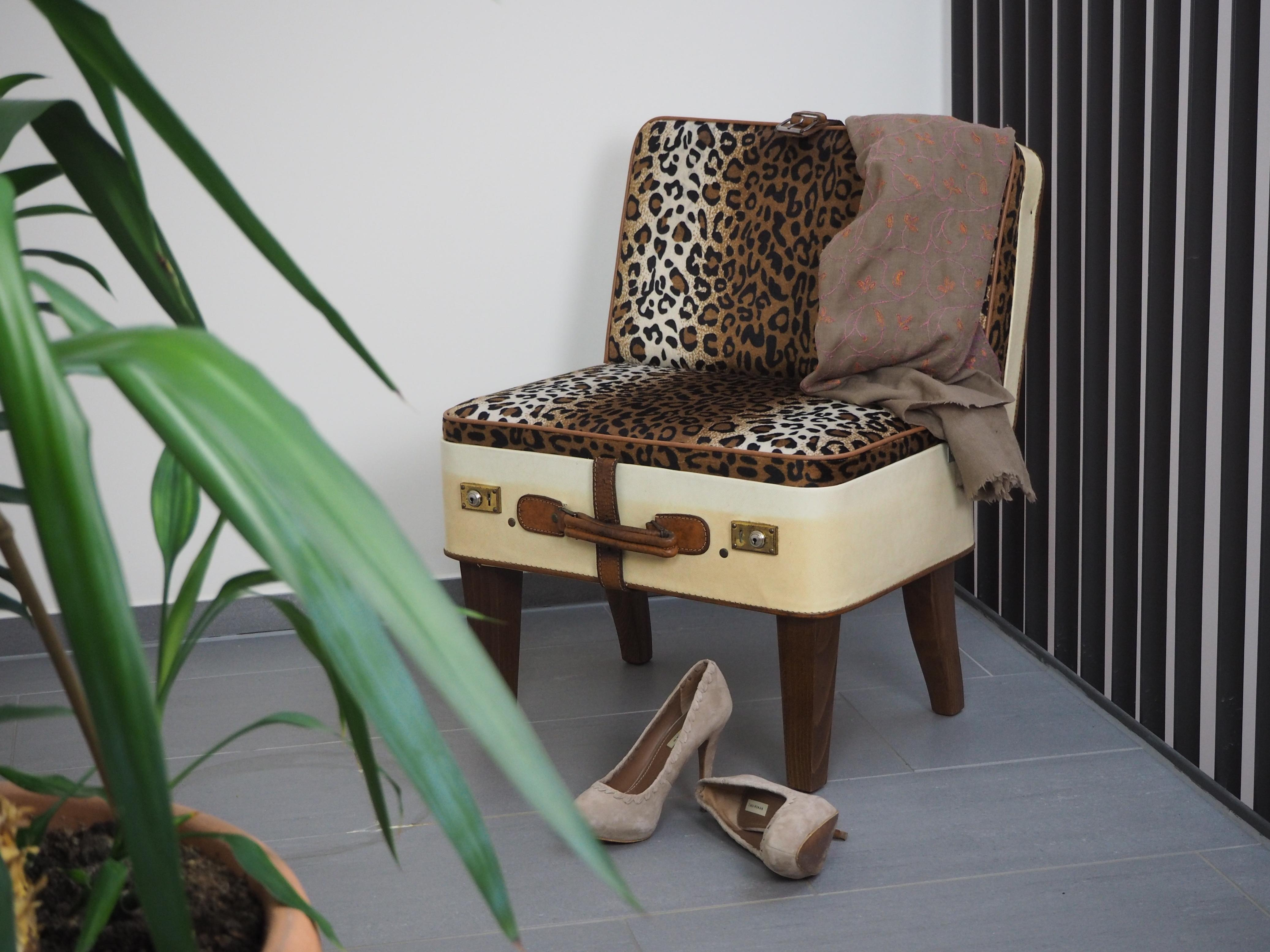 Wild side of Life #koffer #upcycling #handarbeit ©IUNICUM GmbH