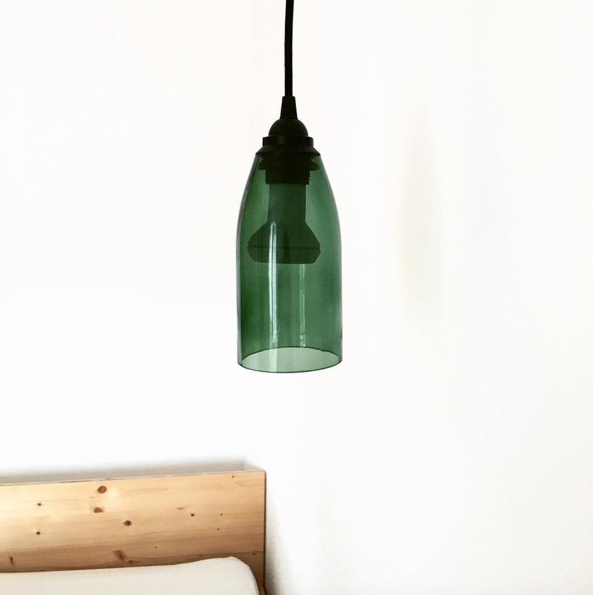 Wine bottle = beautiful lamp! 🍷 #moosham #design #lamp #bavaria #architecture #holiday #travel #DIY