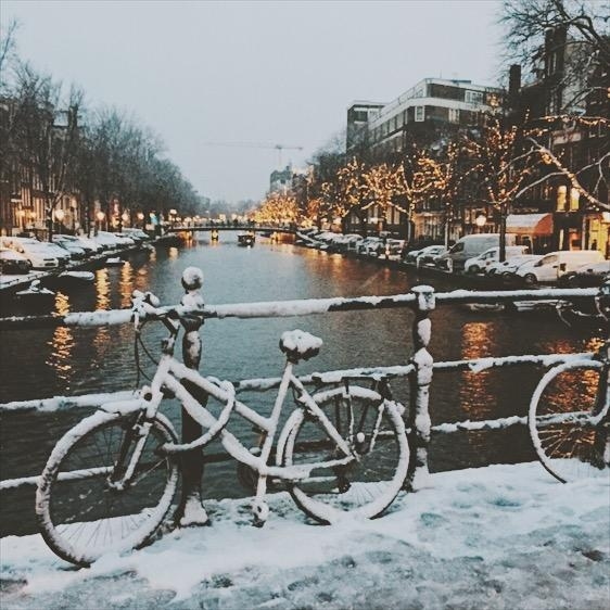 Winter in Amsterdam ❄️🌨️