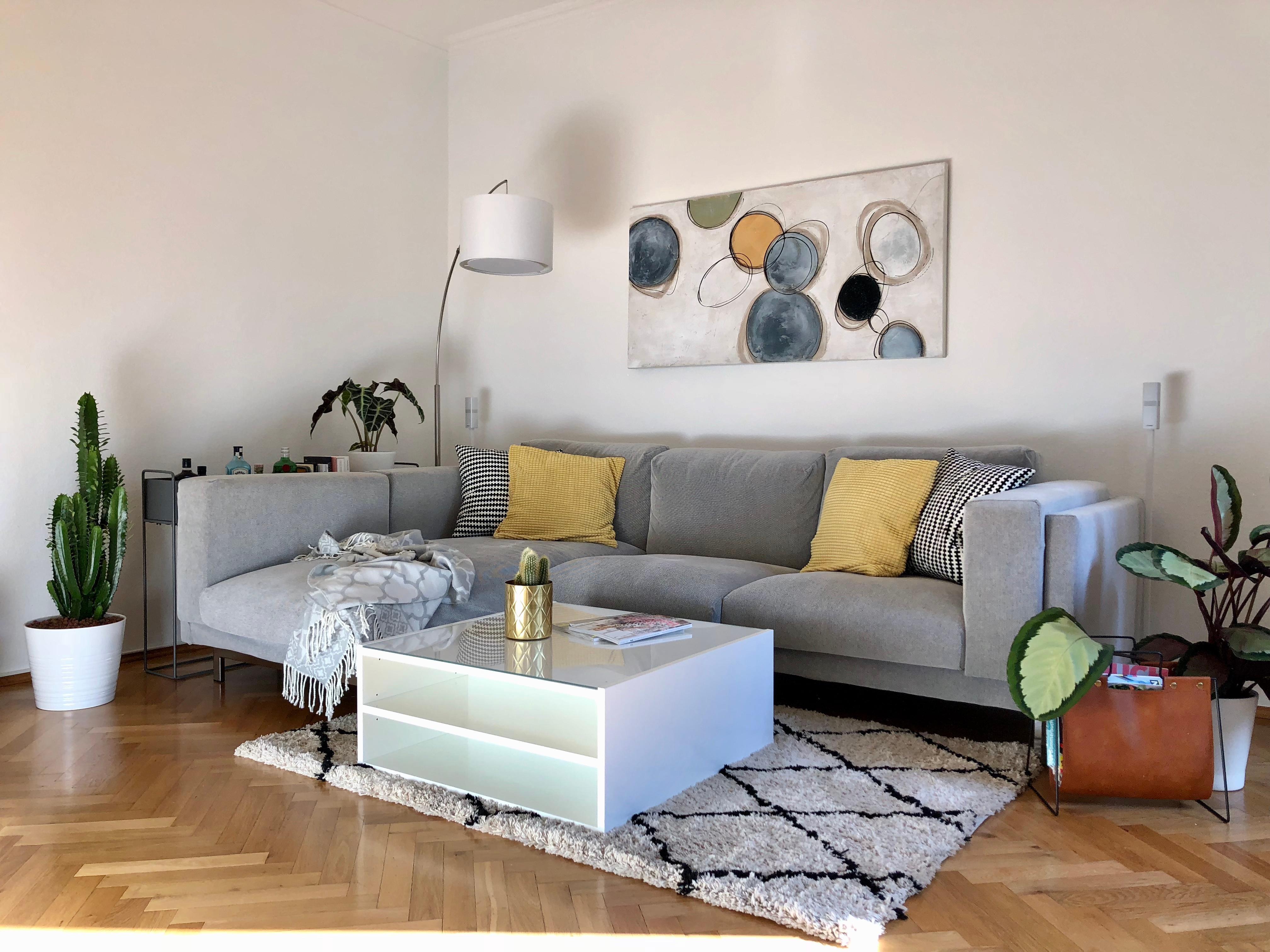 wochenteiler und der erste tag der livingchallenge mit wohnzimmer schonen tag euch