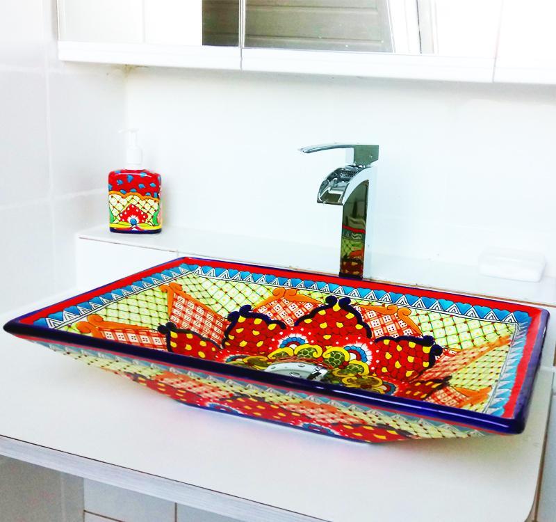 Buntes Waschbecken Bilder Ideen Couch