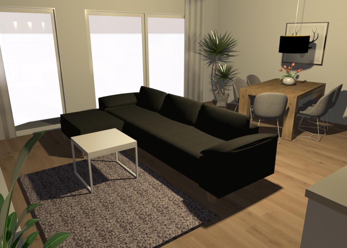 Wohn / Esszimmer #wohnzimmer #sofa ©Fashion For Home