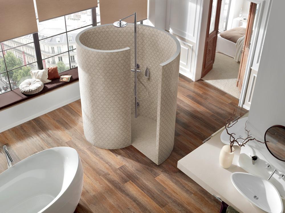 Moderne Dusche - Wohndesign
