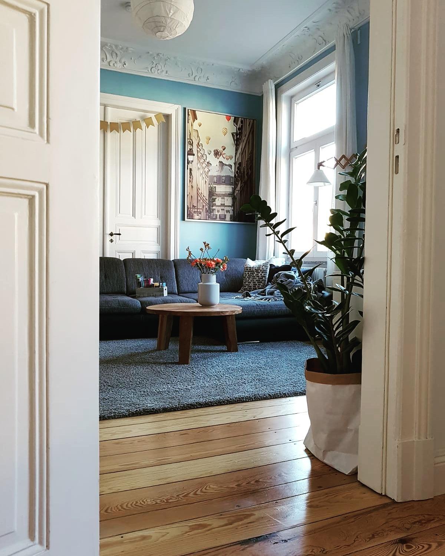 Wohnzimmer Altbau Altbauliebe Wohnzimmer Durch