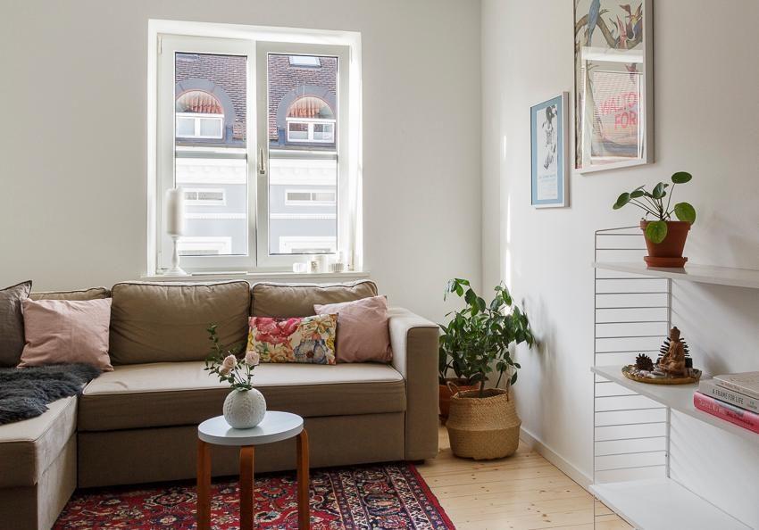 Wohnzimmer baldeinneuessofa natürlich pflanzen string teppich interiordesign couchliebt