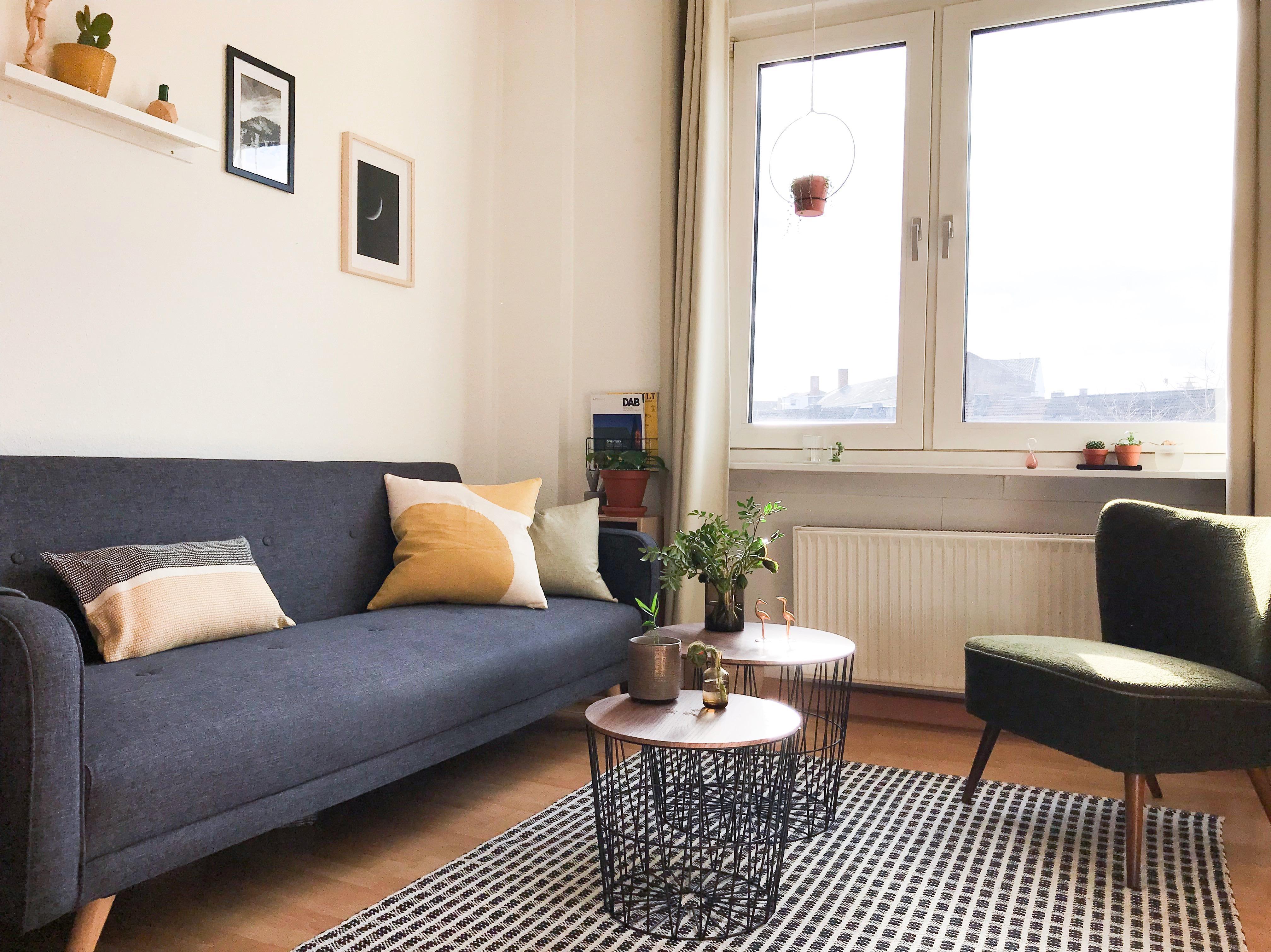 Wohnzimmer Deko Frhling Livingroom Scandi Couchstyle.