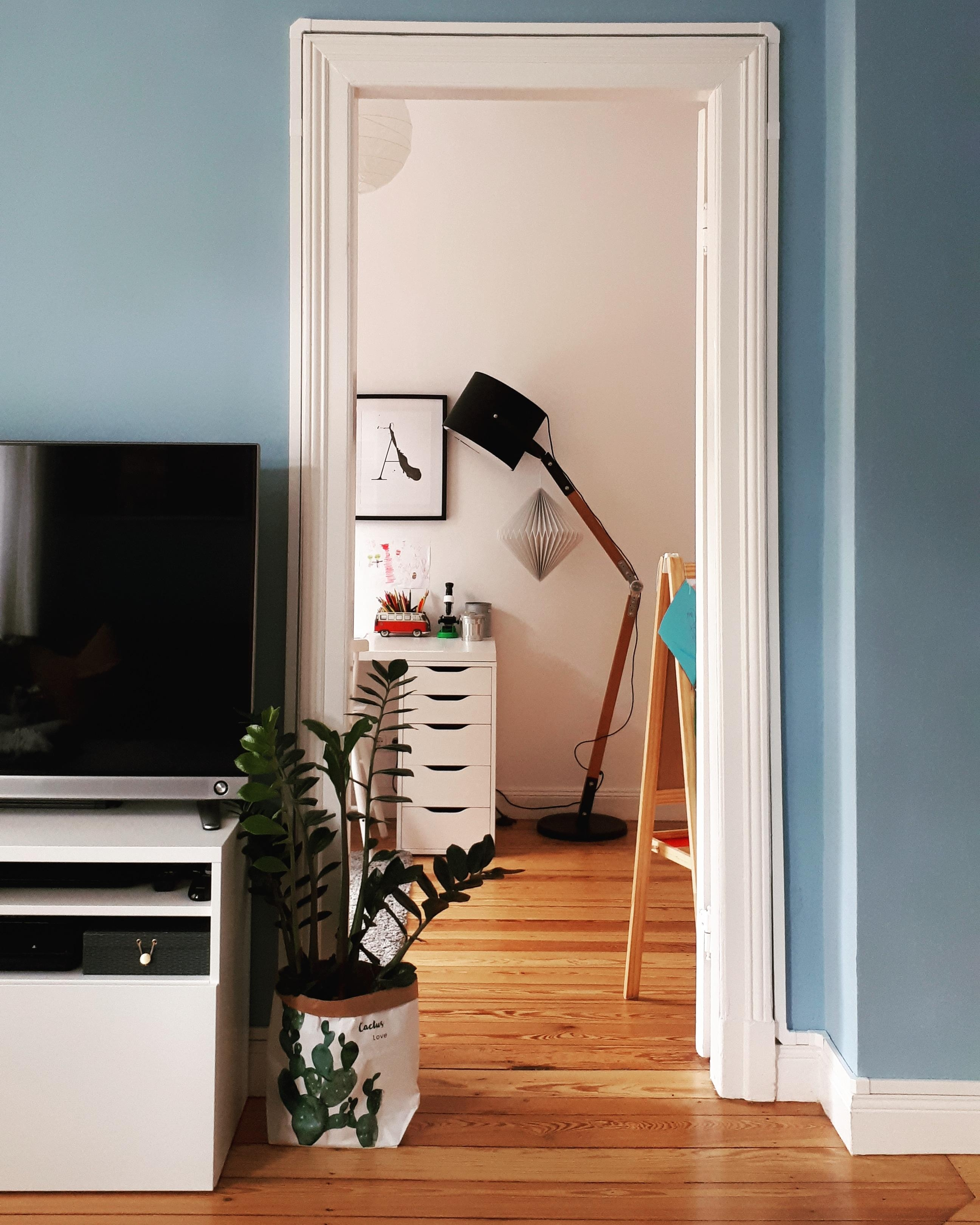 Wohnzimmer Durchblick Arbeitszimmer Scandinavian Altbau Altbauliebe  4985487d A140 4920 8410 89150af382f1