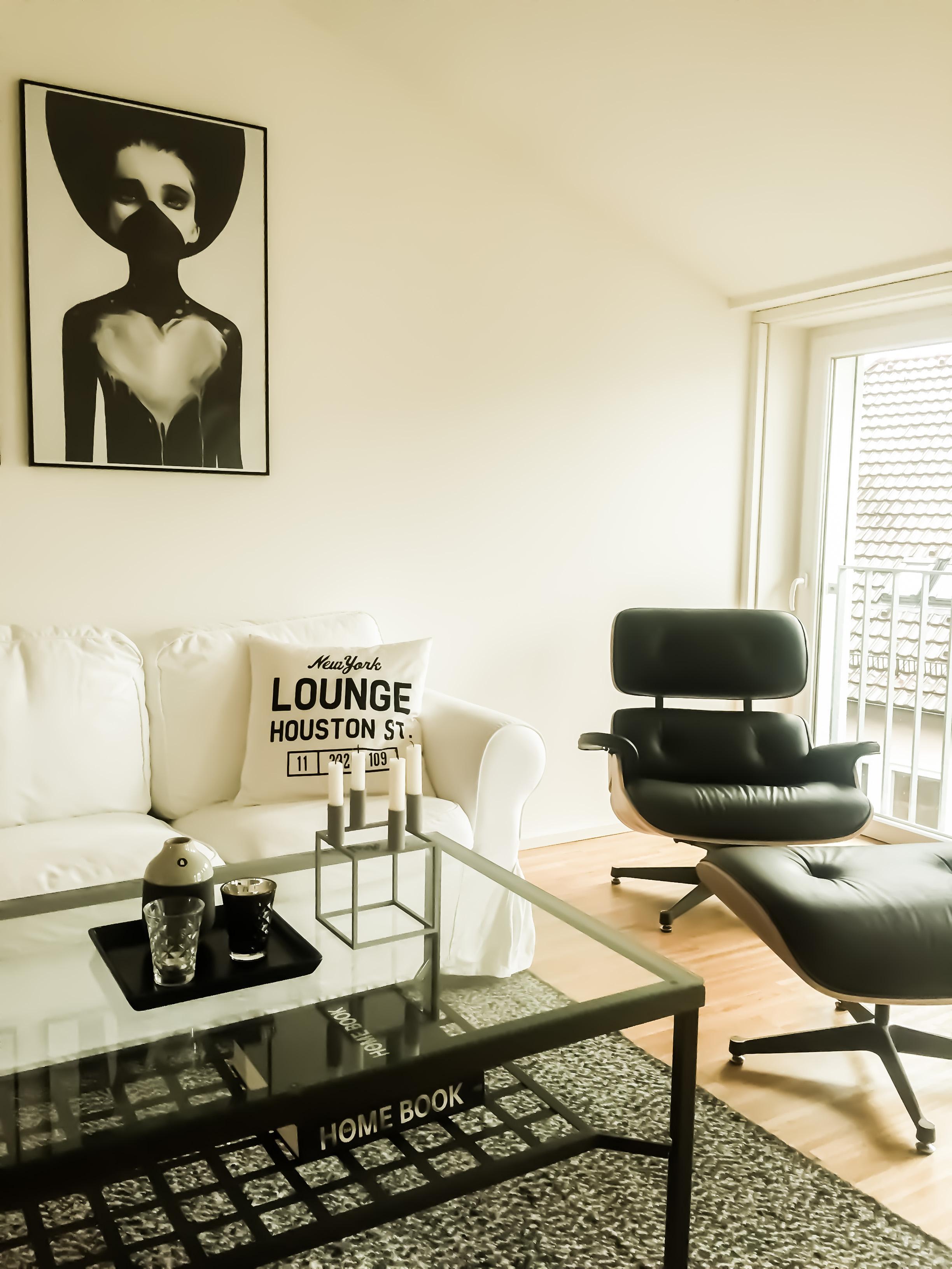Charming #wohnzimmer #eames #loungechair #interior #skandinavisch #bylassen  #tinekhome