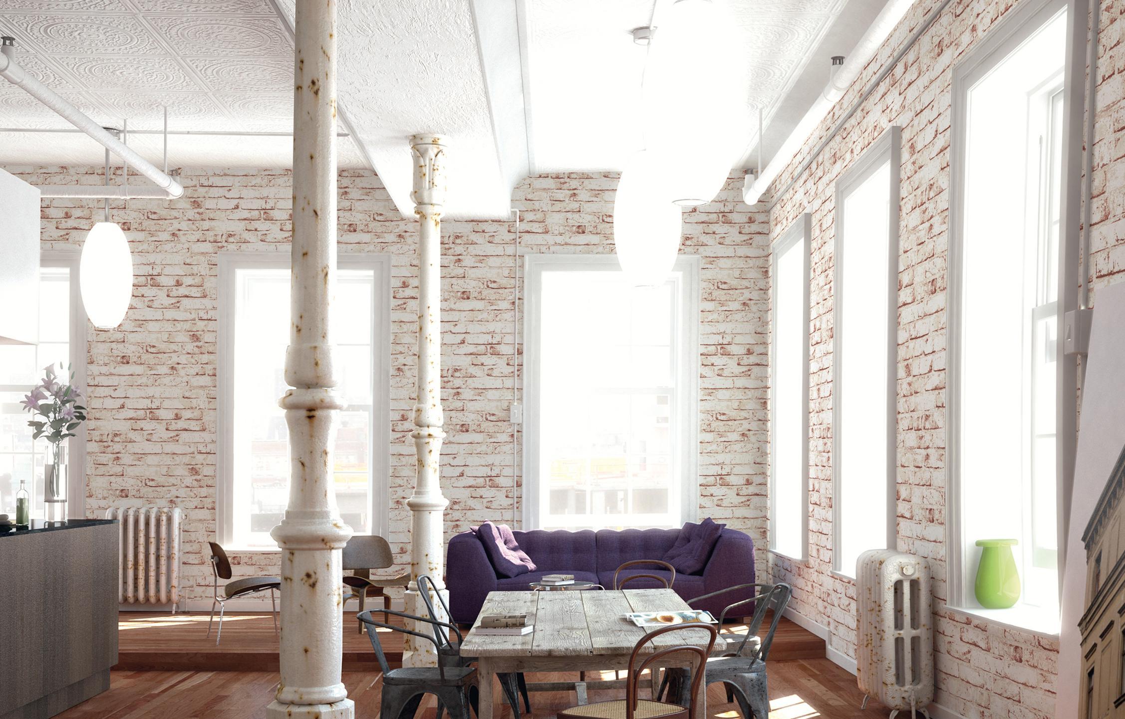 Wohnzimmer Im Coolen Vintage Look #vintage #esstisch #shabbychic #sofa  #industriedesign