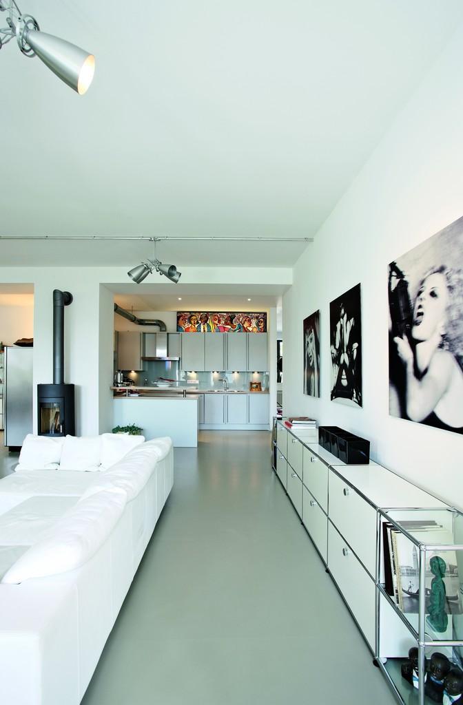Weisses Wohnzimmer Bilder Ideen Couch