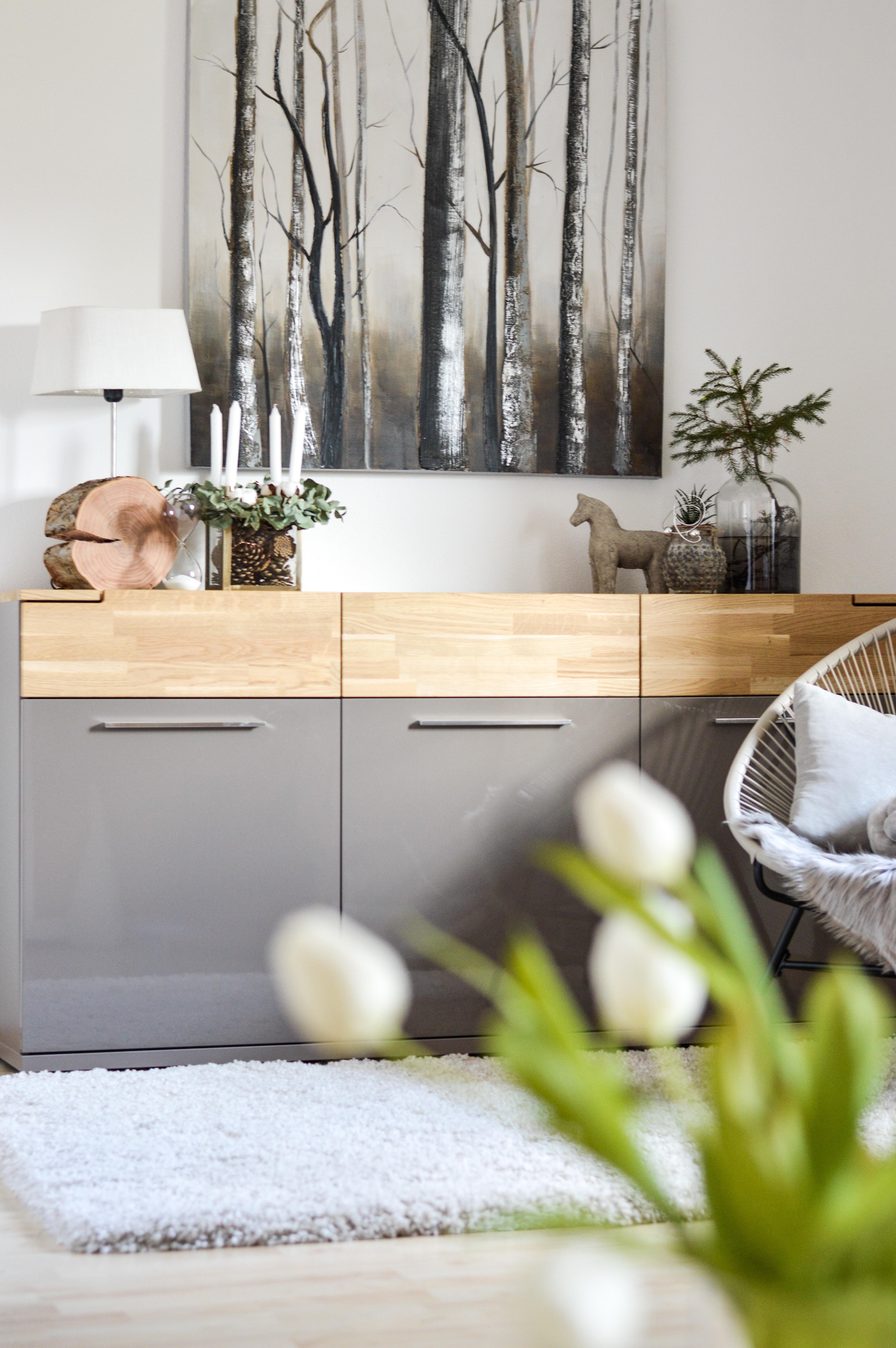 Wohnzimmer Livingroom Living Sideboard Eiche T