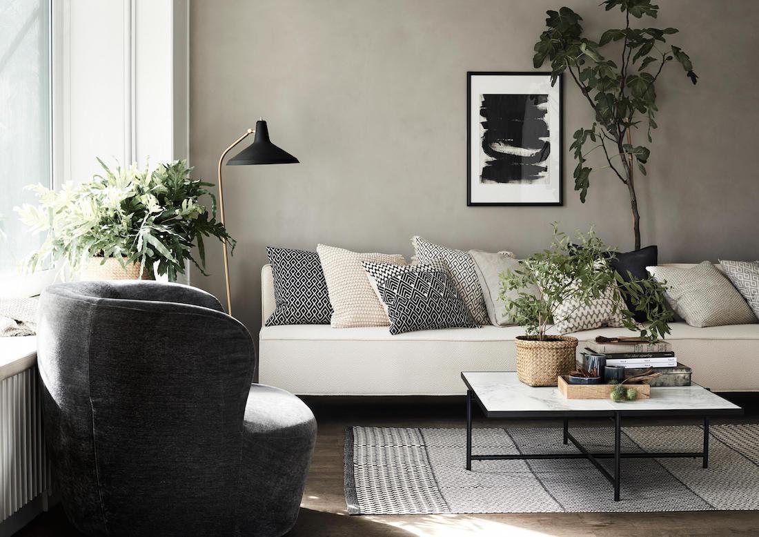 Wohnzimmer Mit Accessoires Aus Der Hm Home Spring K