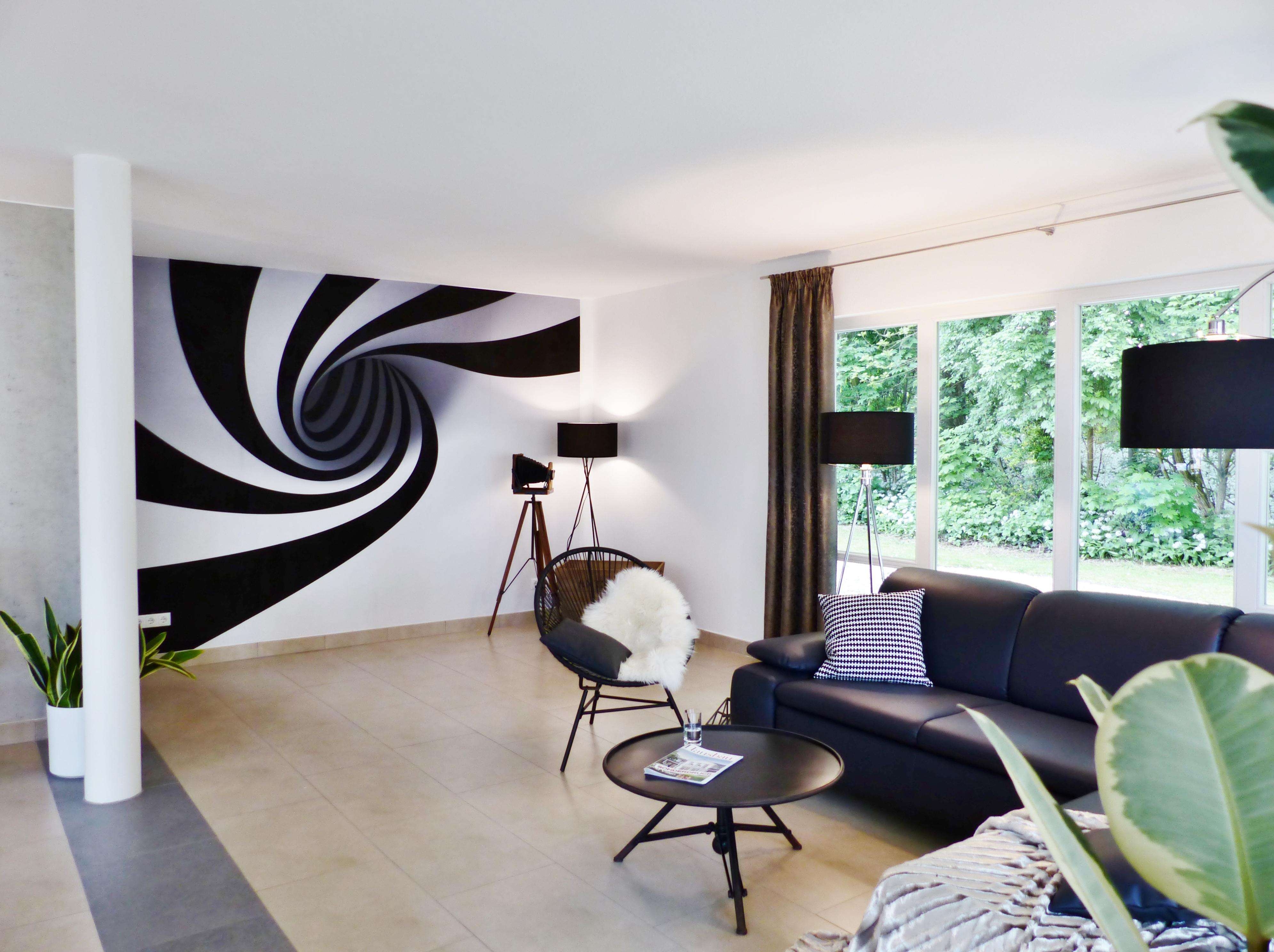 Wohnzimmer Wandgestaltung: Die schönsten Ideen