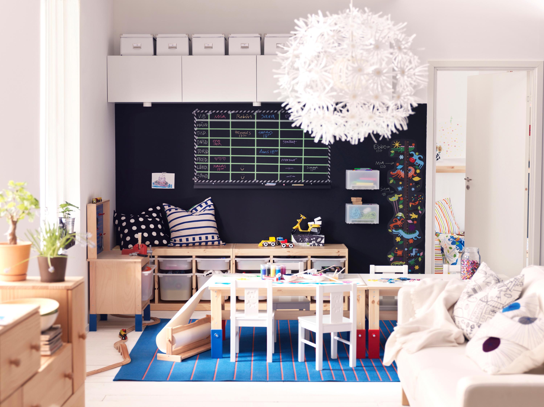 Wohnzimmer Mit Integriertem Kinderzimmer Kissen Ikea CInter IKEA Systems BV