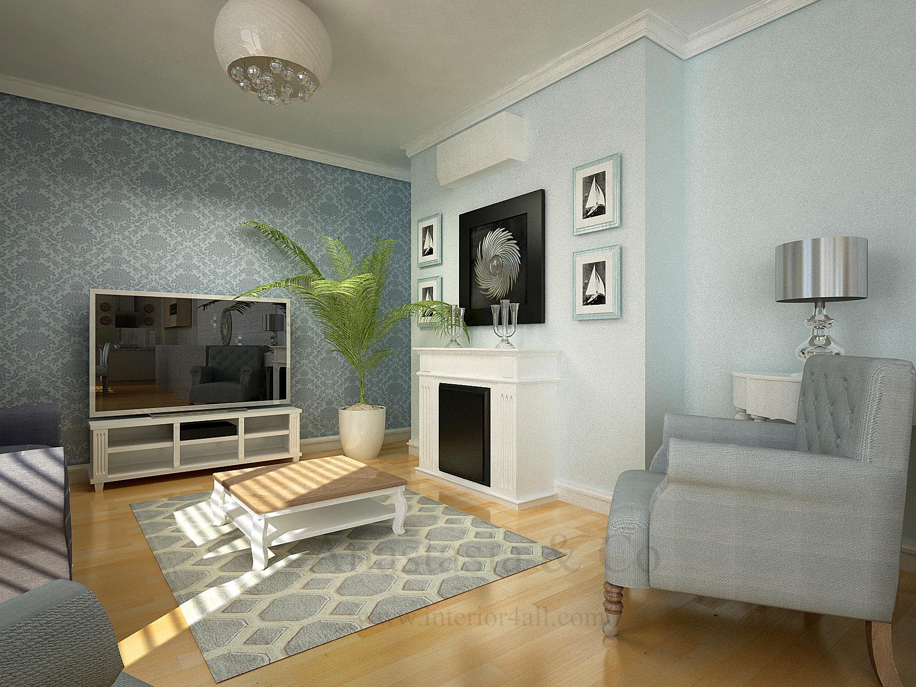 Wohnzimmer Mit Kamin #wohnzimmer ©Anastasia Reicher E.U.