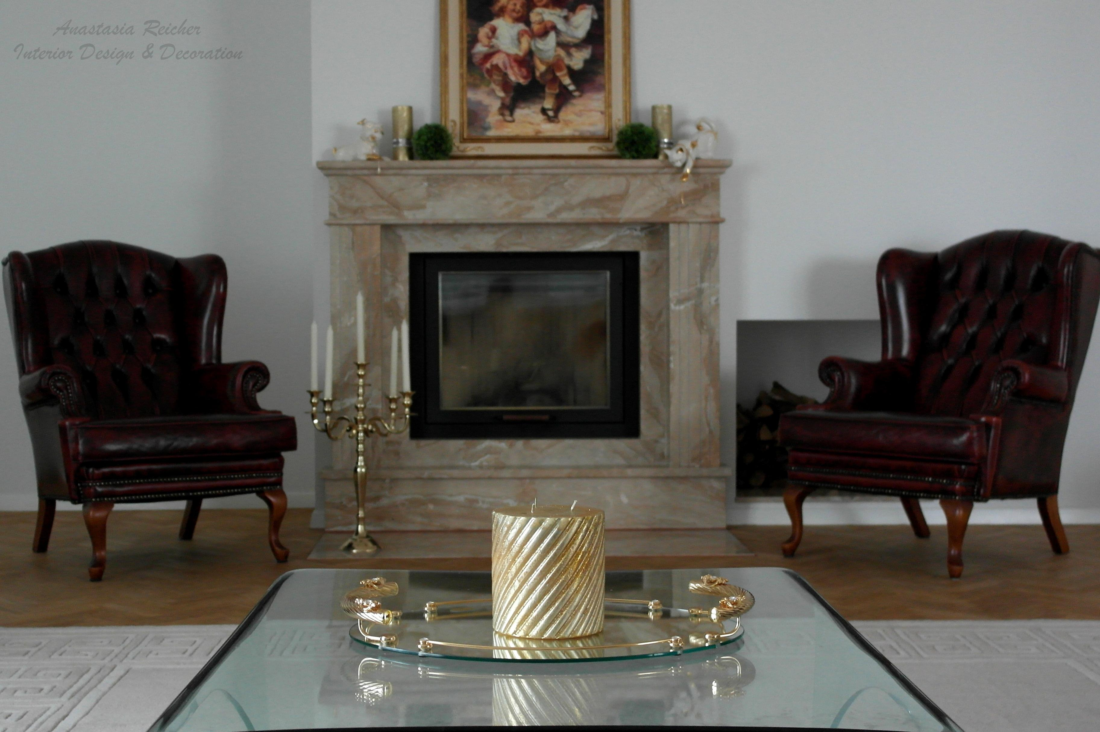 Wohnzimmer Mit Kamin Wohnzimmerkamin CAnastasia Reicher Interior Design Decoration