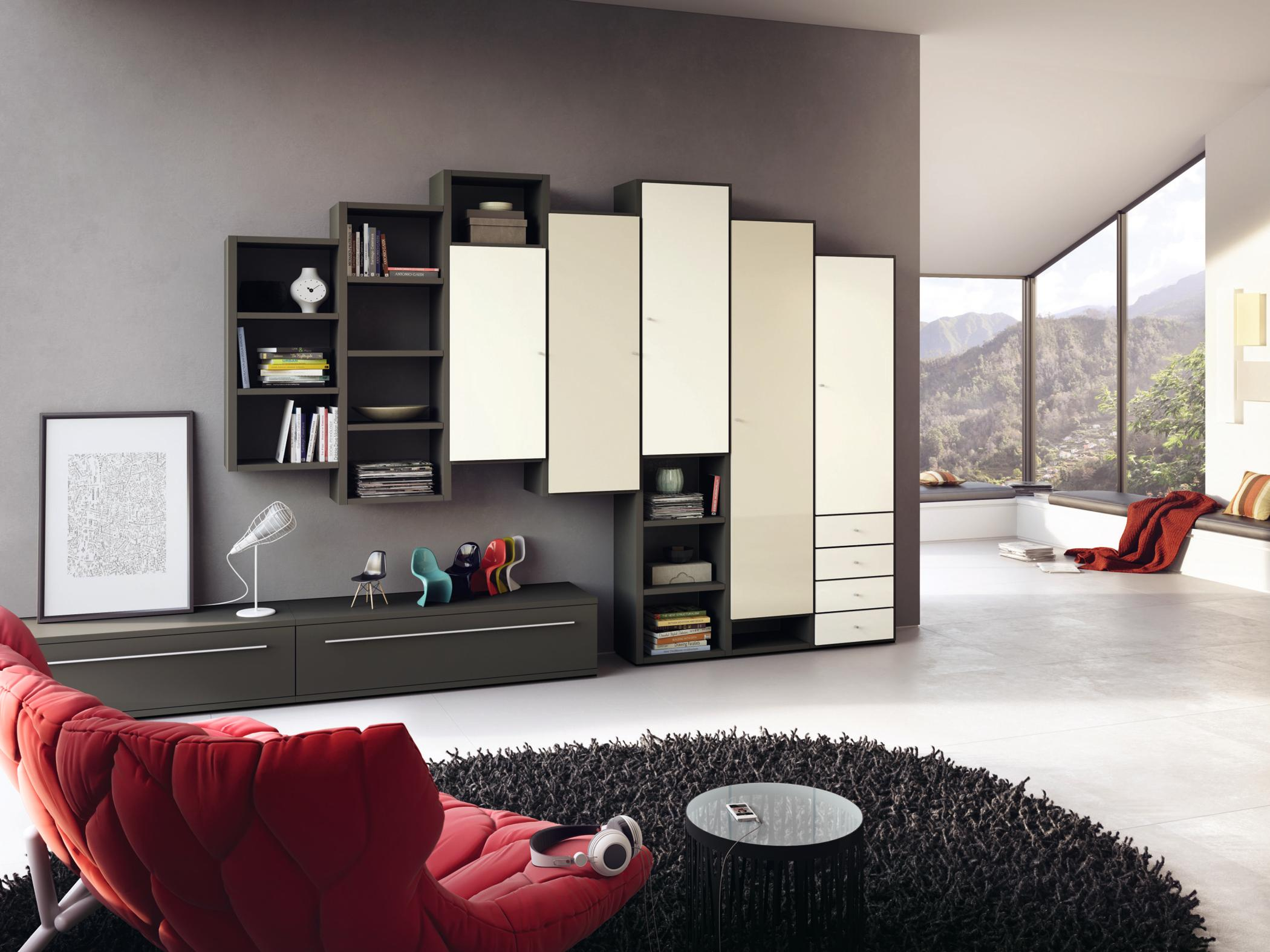 Wohnzimmer Mit Wohnwand Gestalten Tvmöbel Wohnwand