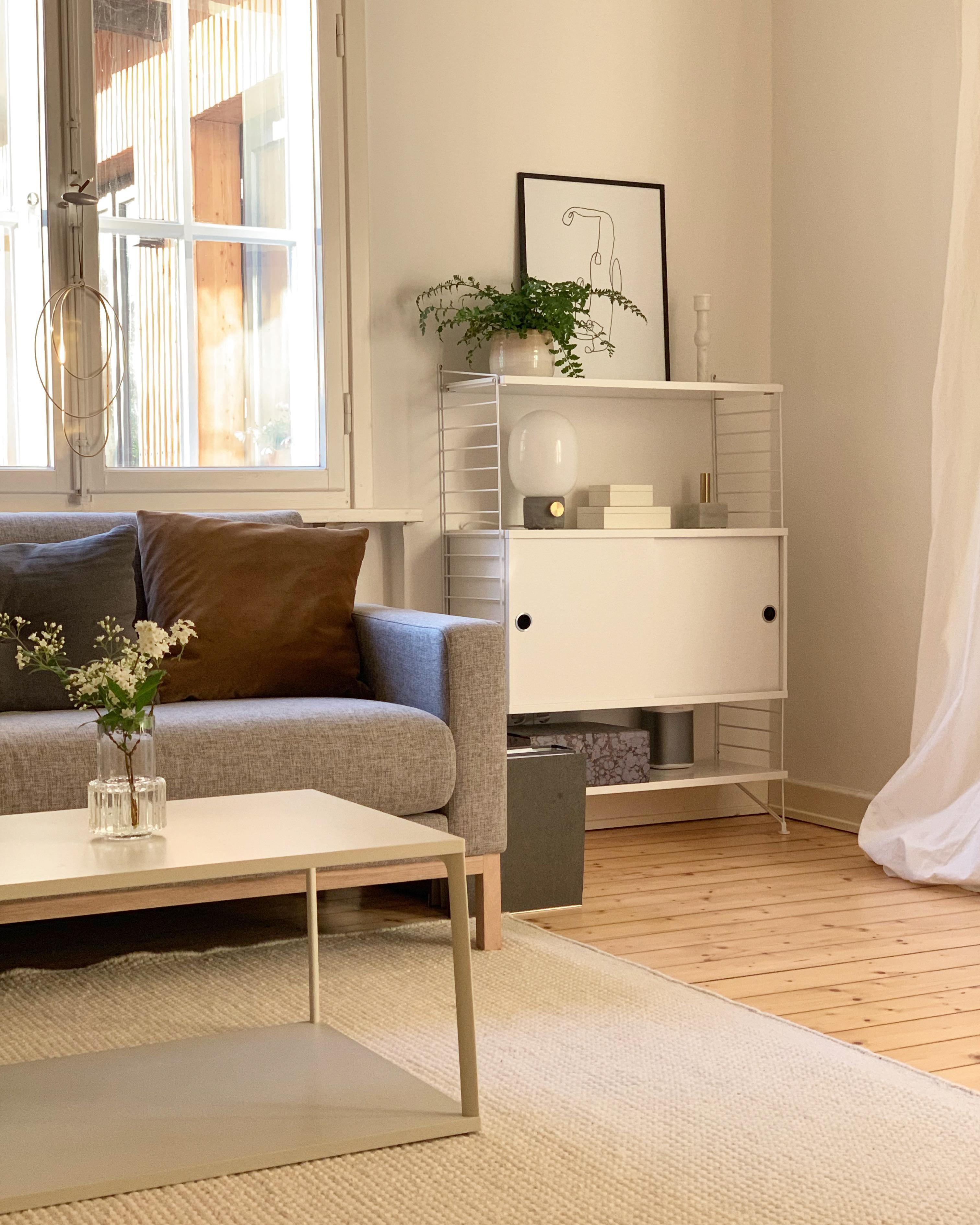 wohnzimmer regal cozy couchtisch