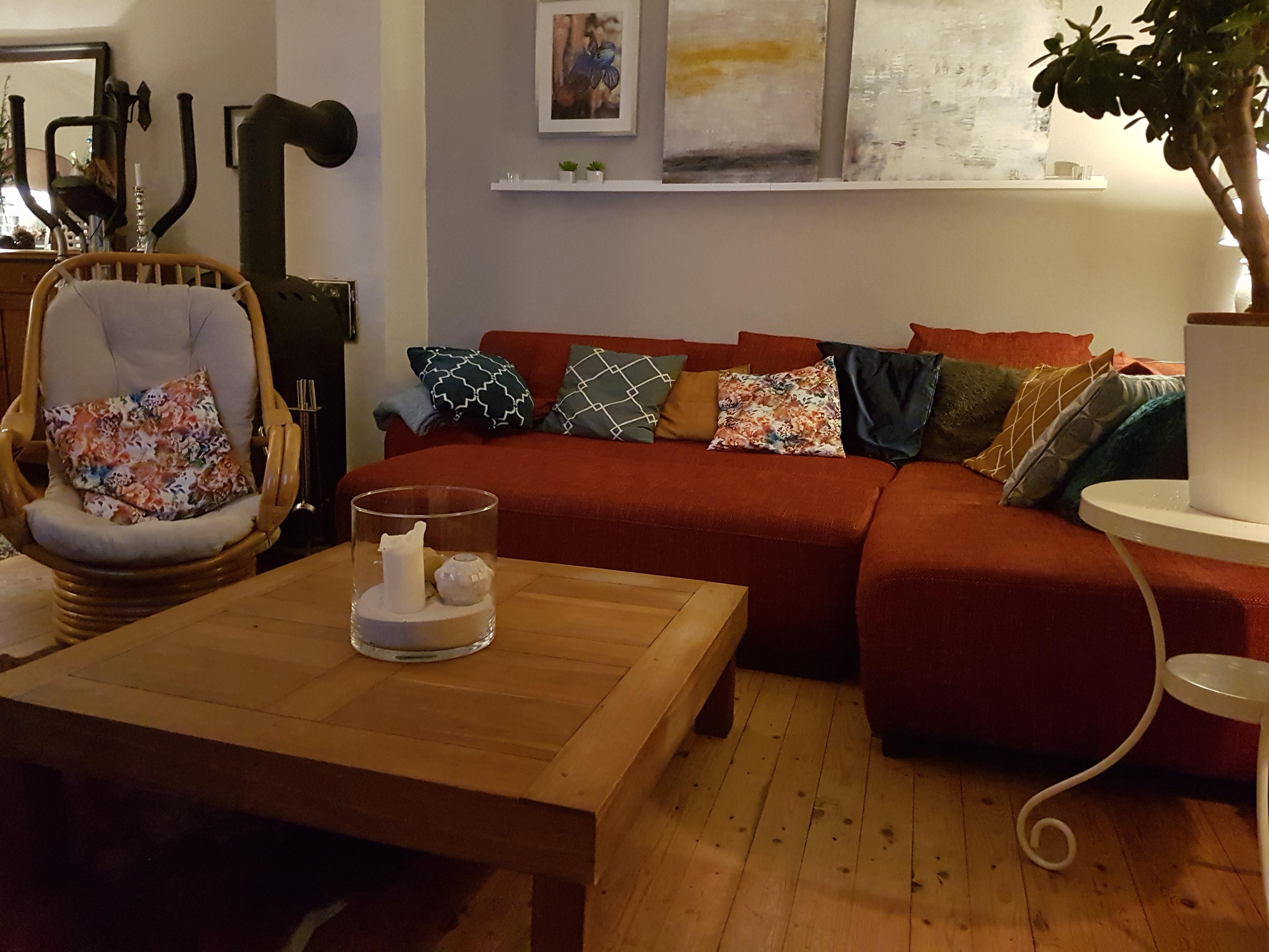 Rote Wandgestaltung • Bilder & Ideen • Couchstyle