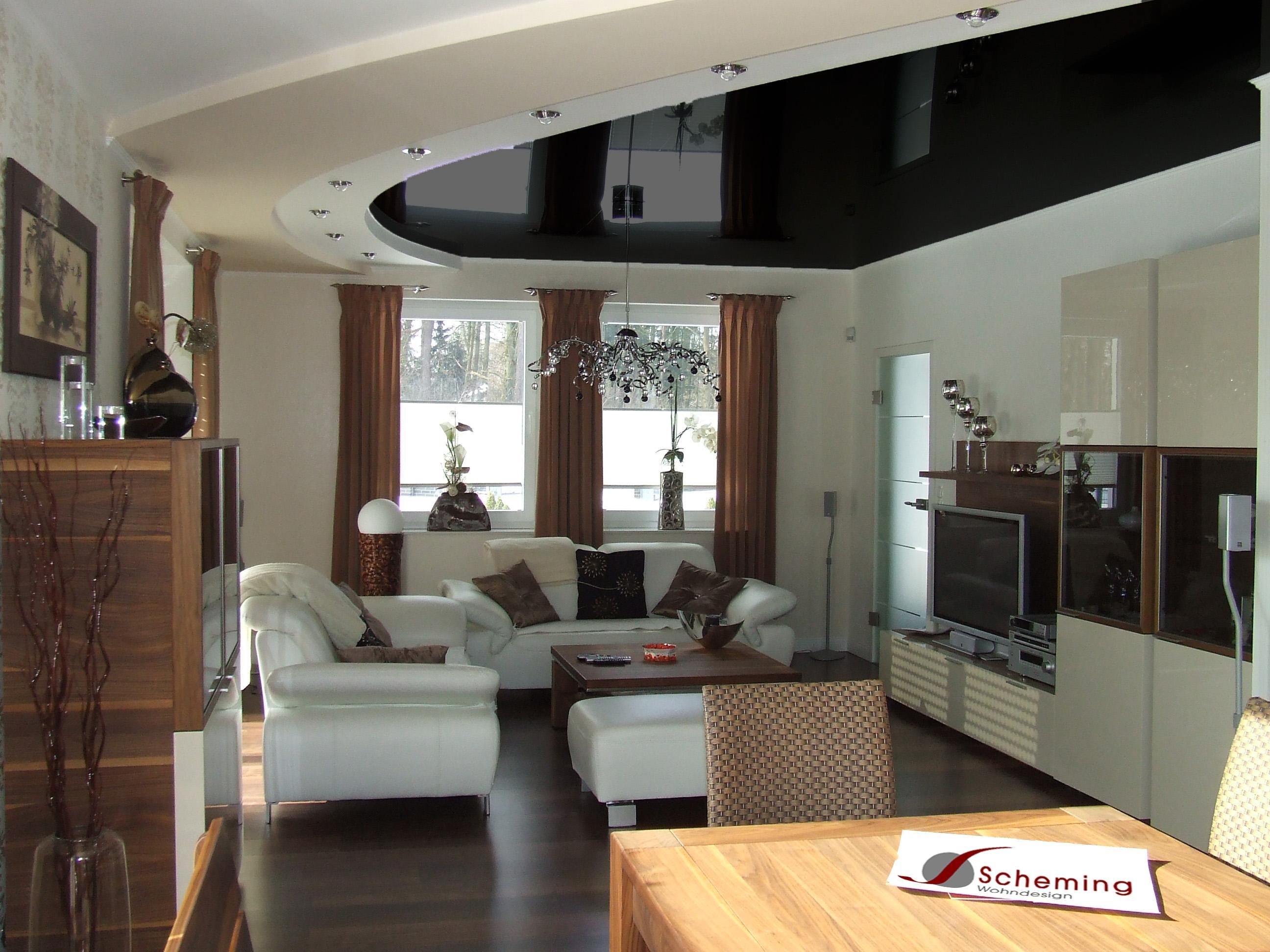 Deckenbespannung bilder ideen couchstyle for Deckendesign wohnzimmer