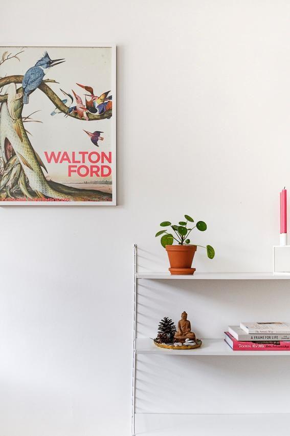 wohnzimmer #string #altundneu #weiß #pink #couchlie...