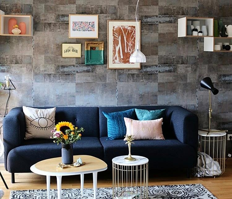 #wohnzimmer #wandgestaltung #deko #scandinavisch #couchstyle #interior