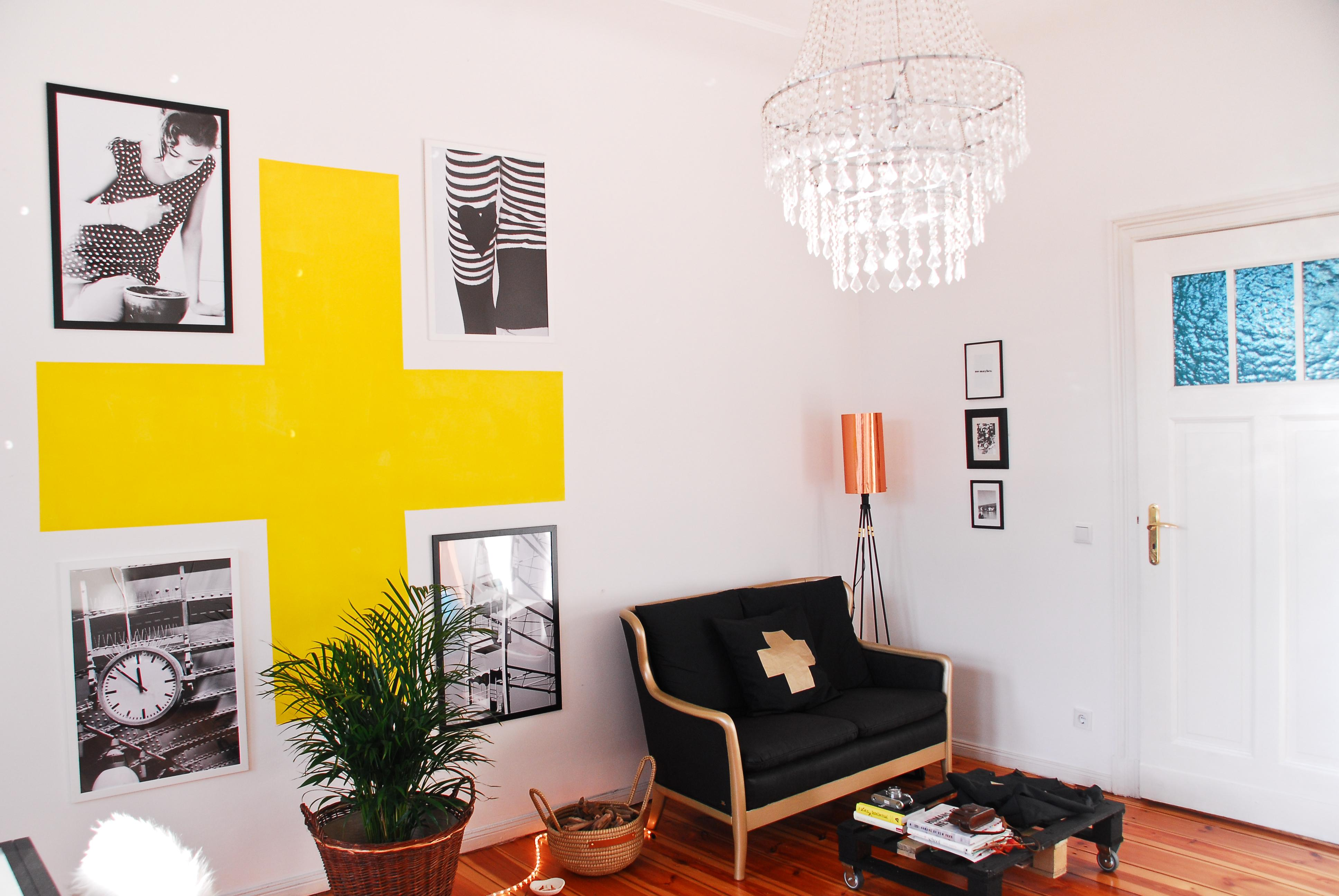 Wohnzimmer Wandgestaltung Fotowand CSibylle Roessler