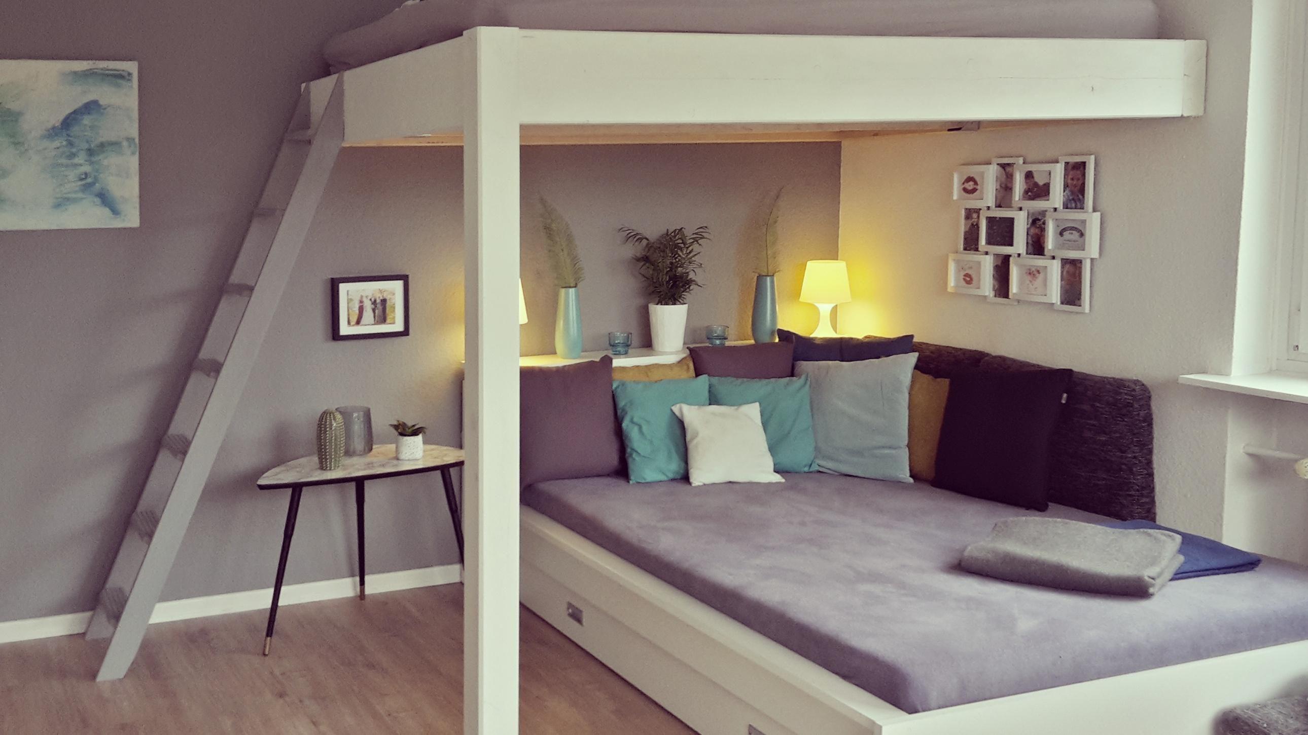 wohnzimmer#schlafzimmer# hochbett# 💙 • COUCH