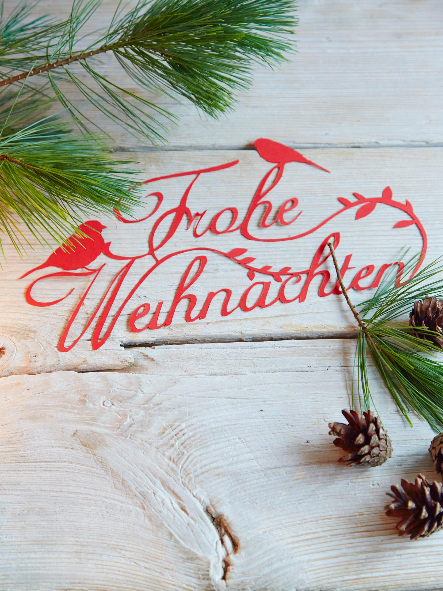 Wortkunst #weihnachtsdeko ©Living at Home