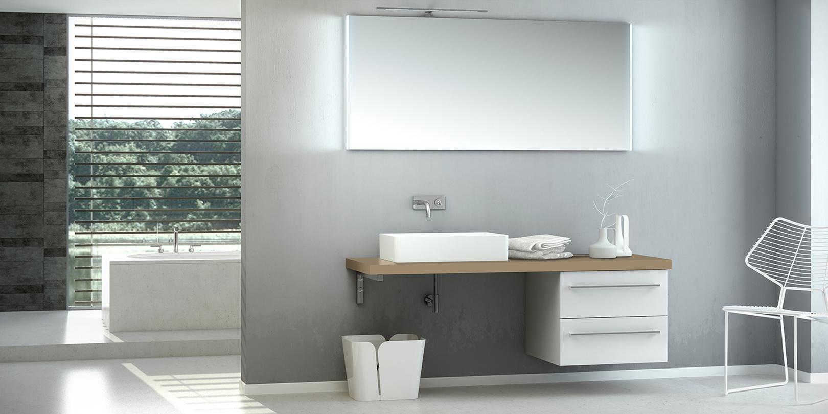 Zeitlose ARTIQUA 113 Badmöbel #waschtisch #badezimmerschrank #badmöbel  ©ARTIQUA