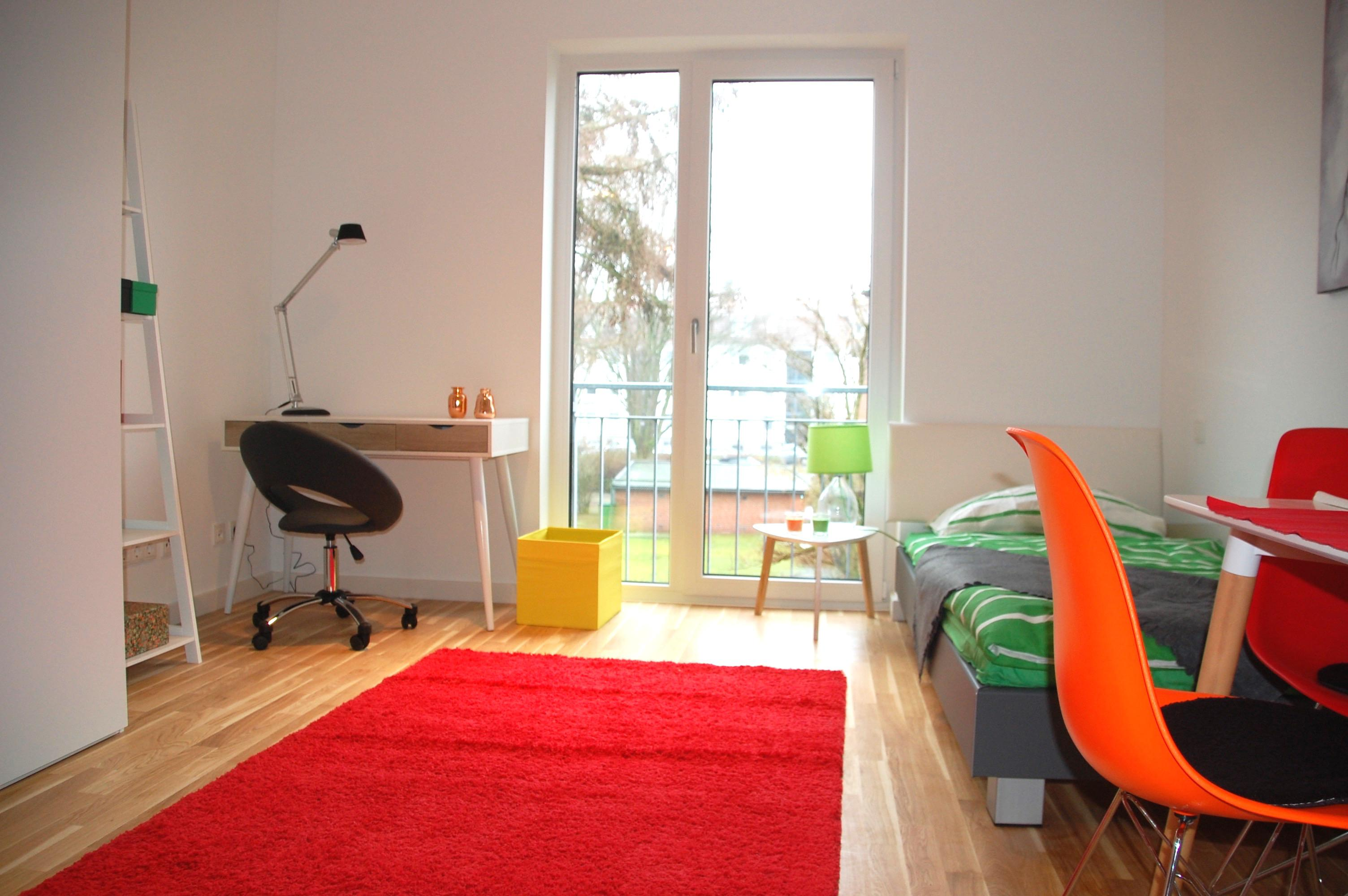 Zimmer apartment #studentenwohnung ©Miracle Room