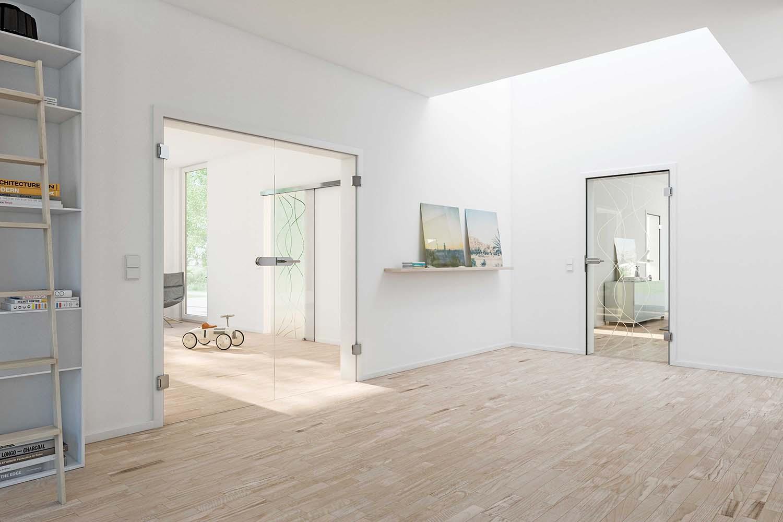 glastür • bilder & ideen • couchstyle, Wohnzimmer