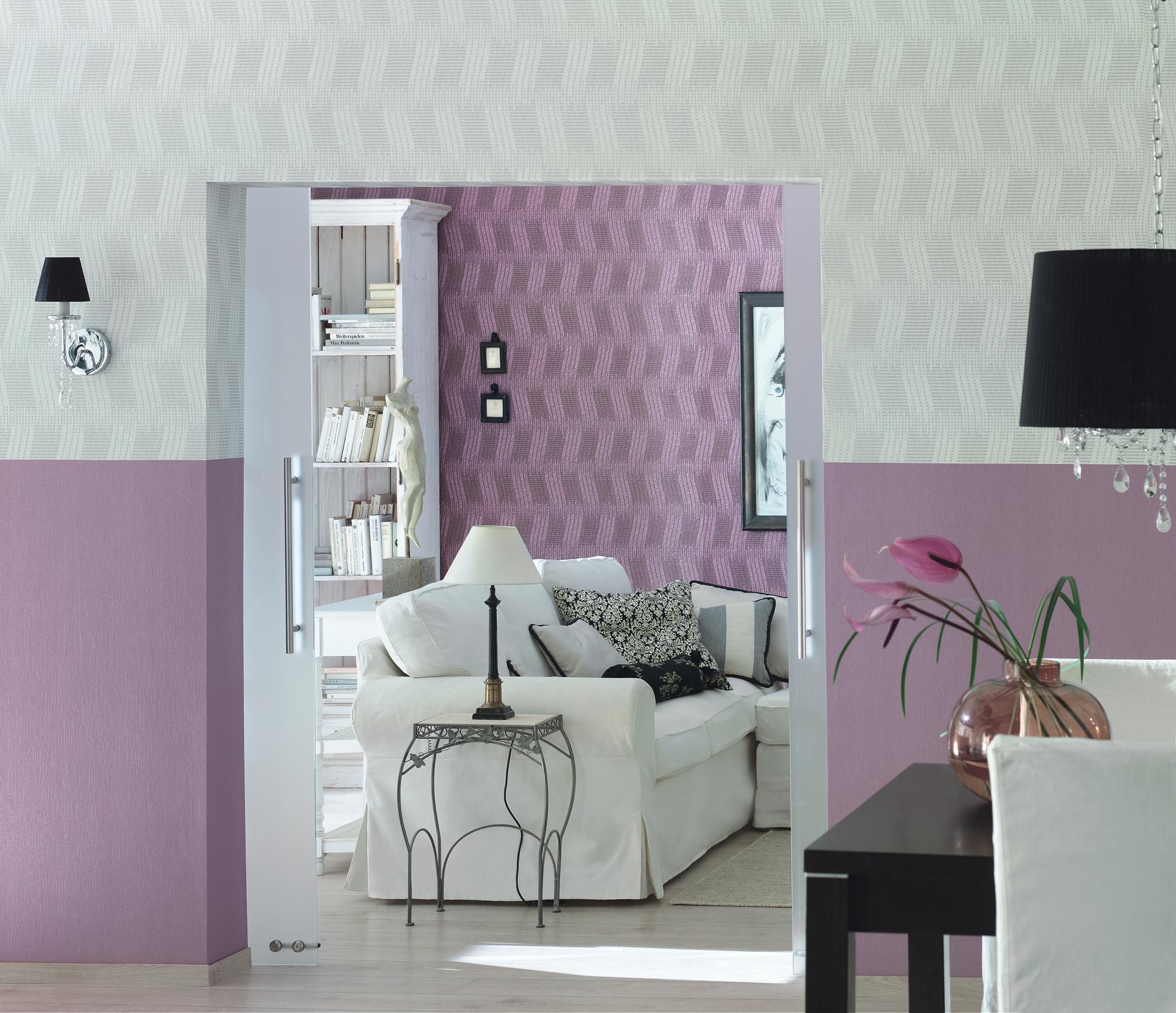 wohnzimmer wandgestaltung ? bilder & ideen ? couchstyle - Rosa Wande Wohnzimmer