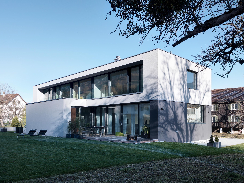 Fassadengestaltung einfamilienhaus beispiele grün  Fassadengestaltung • Bilder & Ideen • COUCHstyle